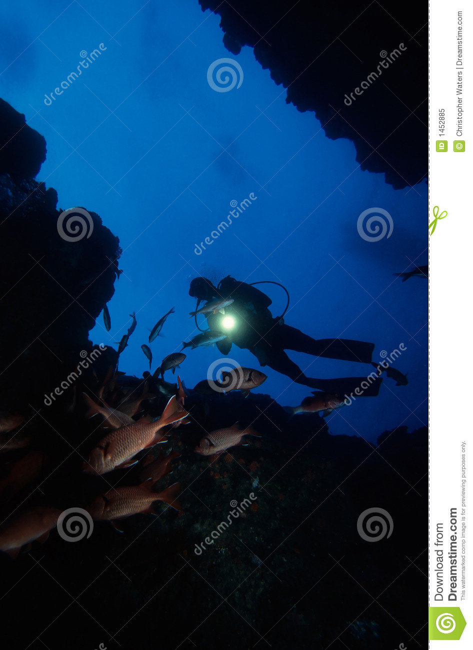 Diving Under Water
