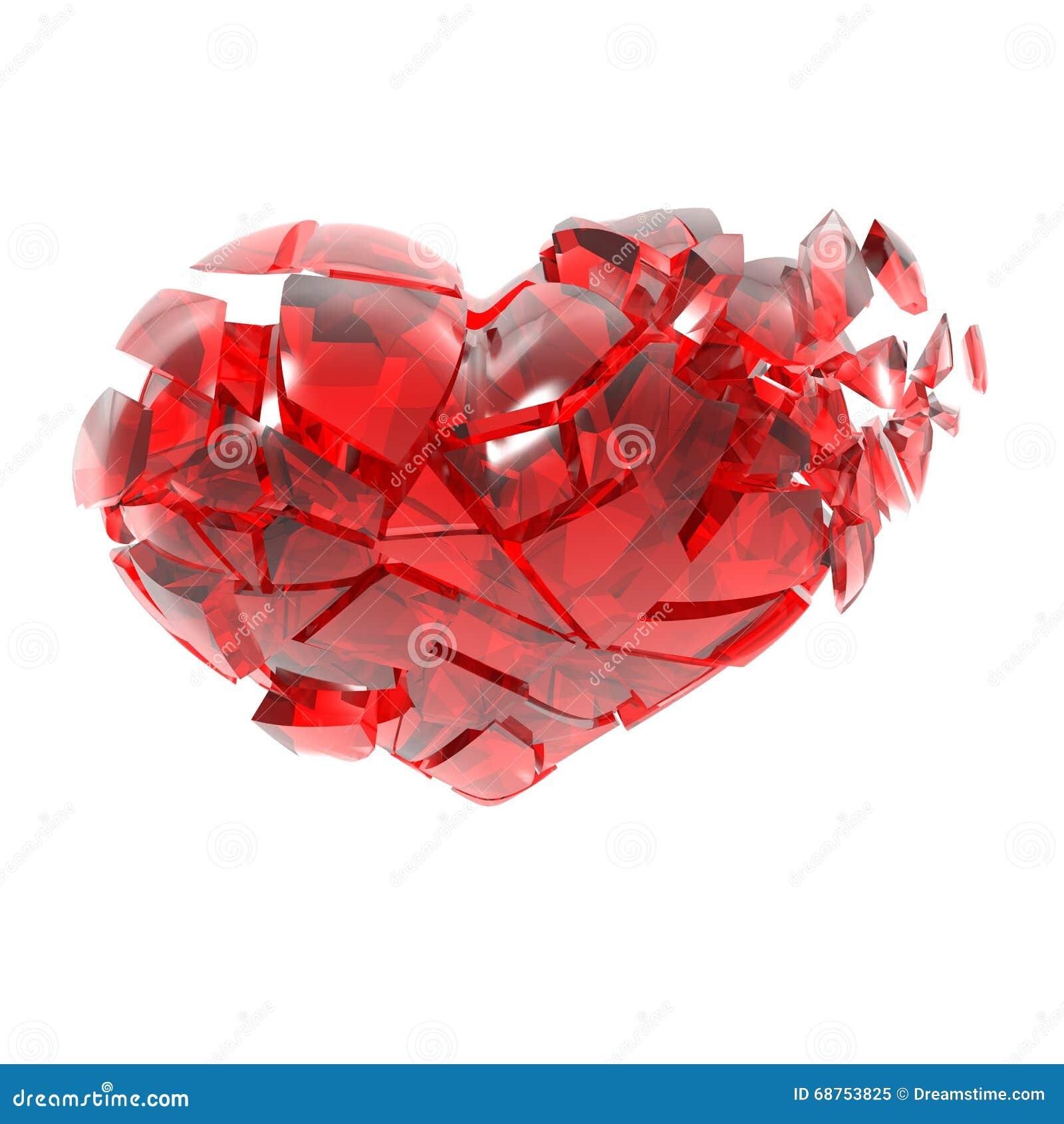 """Résultat de recherche d'images pour """"coeur morceaux de verre"""""""