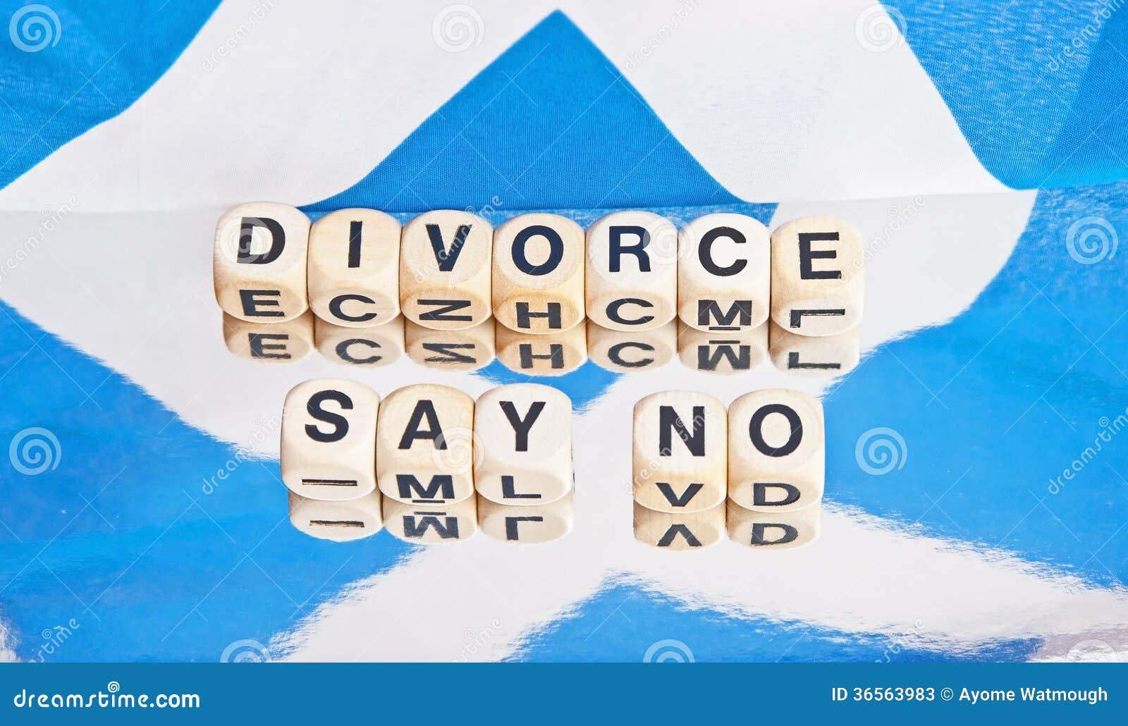 Divorce : dites non !