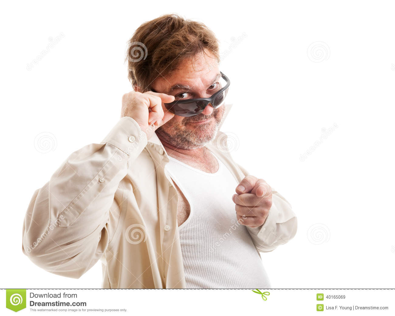 Divorced Man - Mid-Life Crisis Stock Image - Image of cool