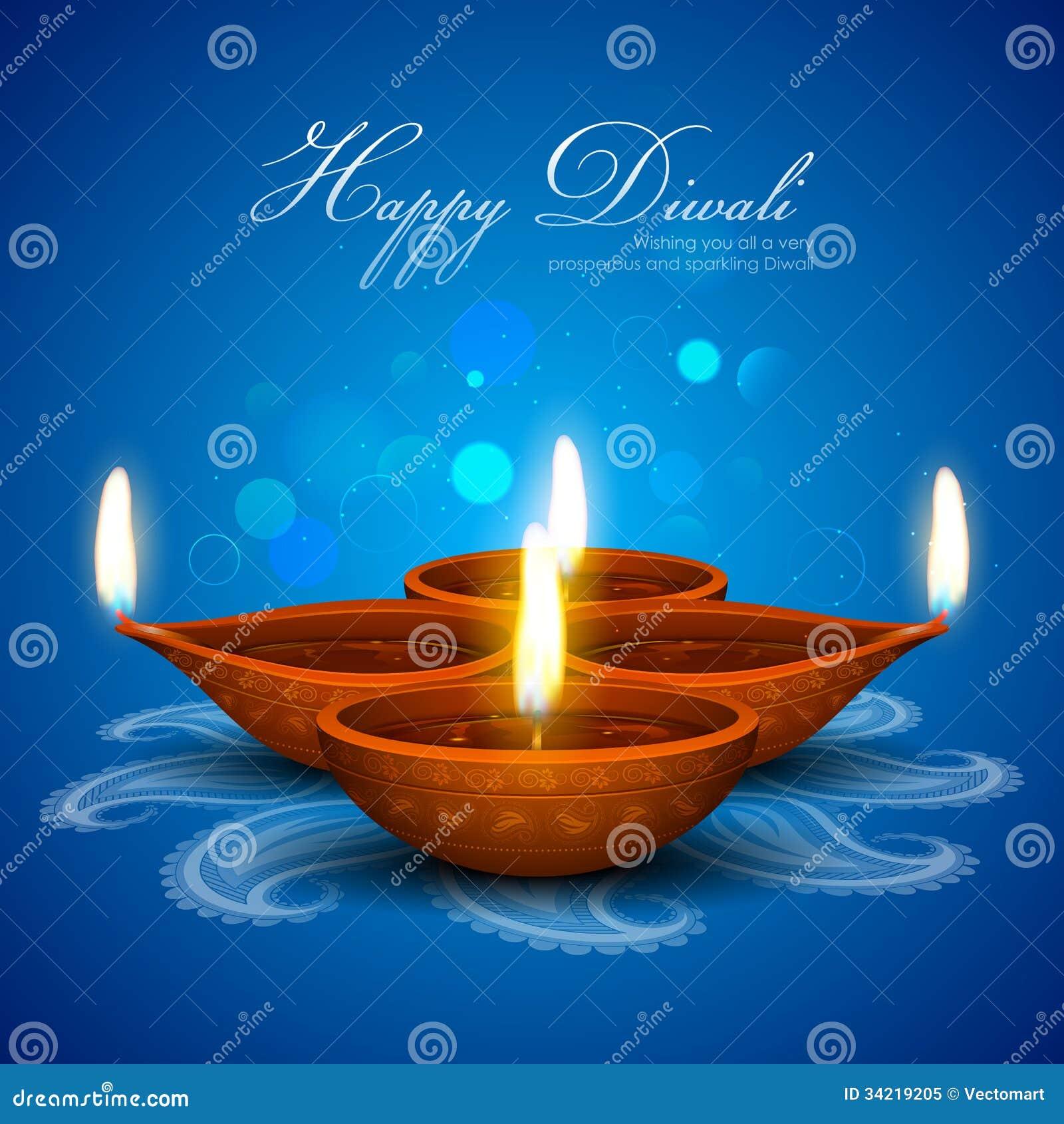 Diwali假日背景