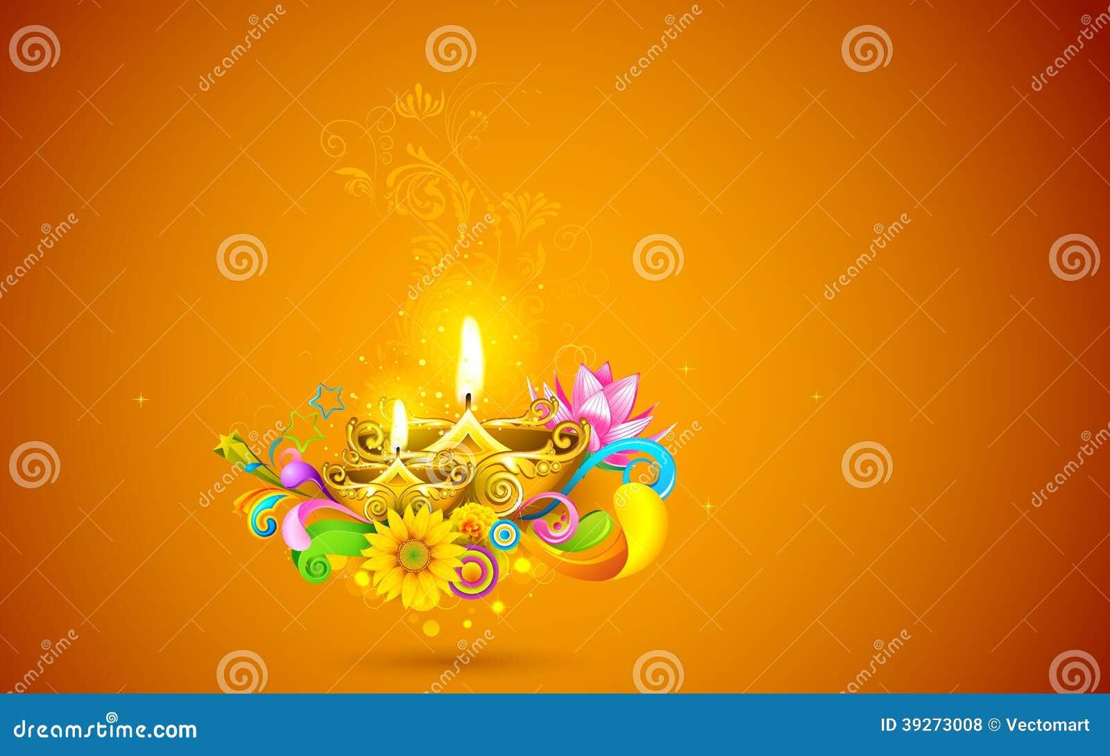 Diwali brûlant Diya