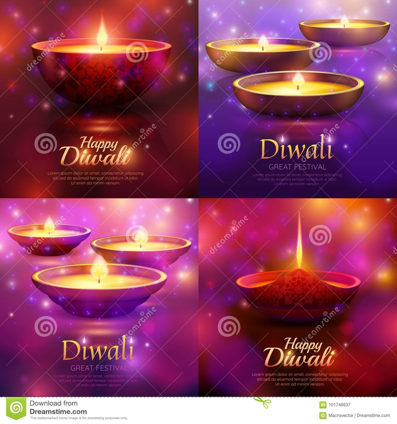 Diwali Celebration Design Concept