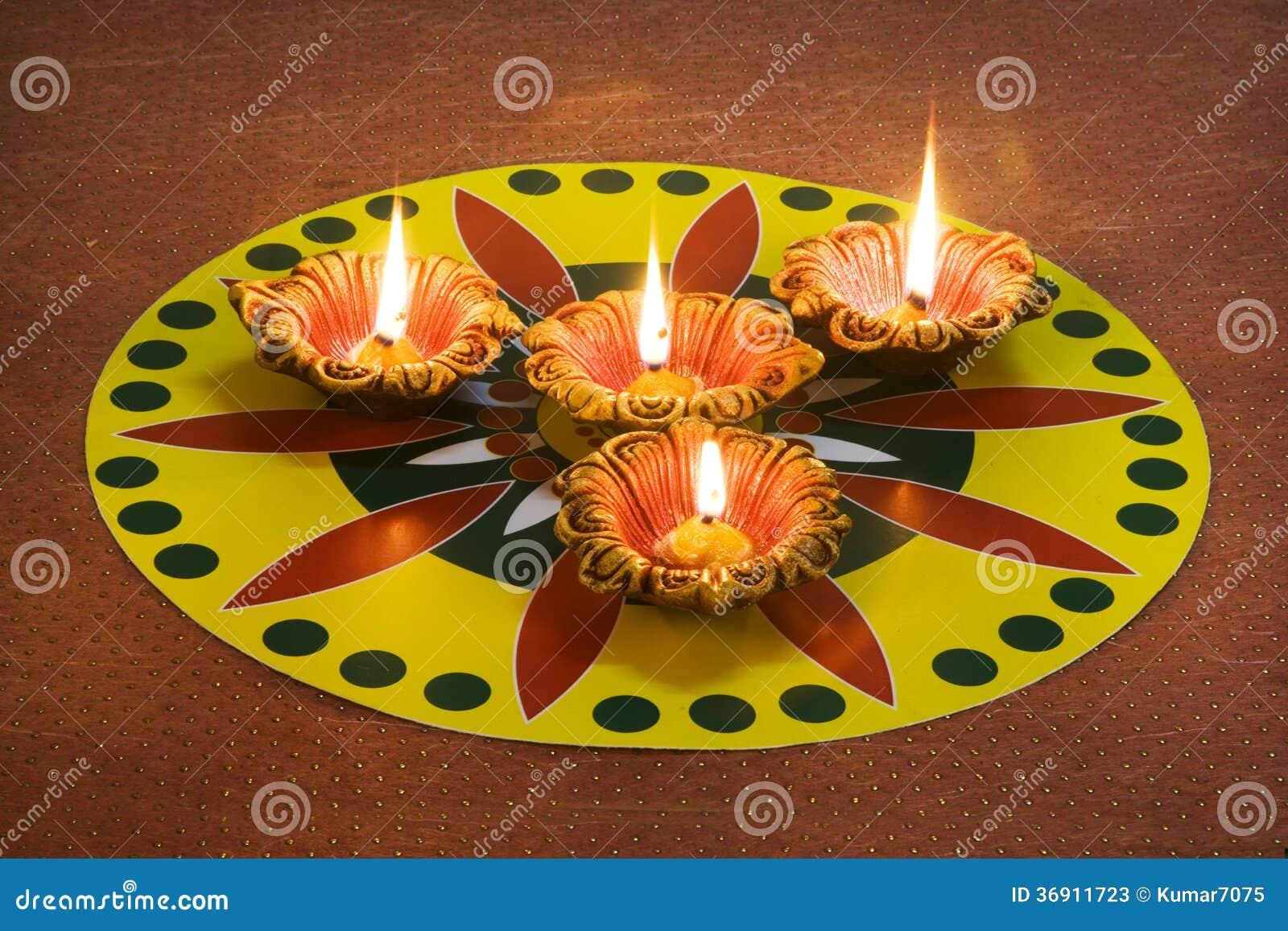 Diwali dekoracje
