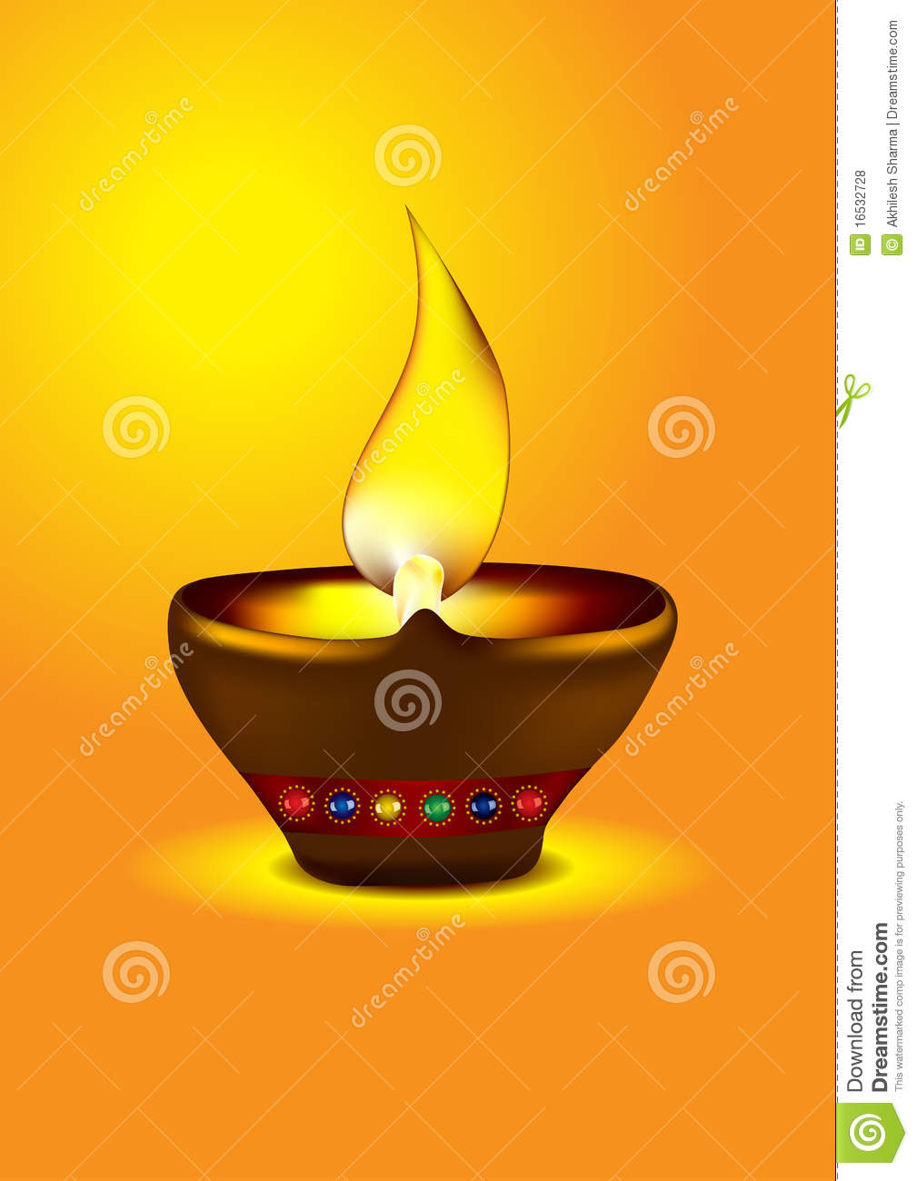 Diwali Diya - Oil lamp