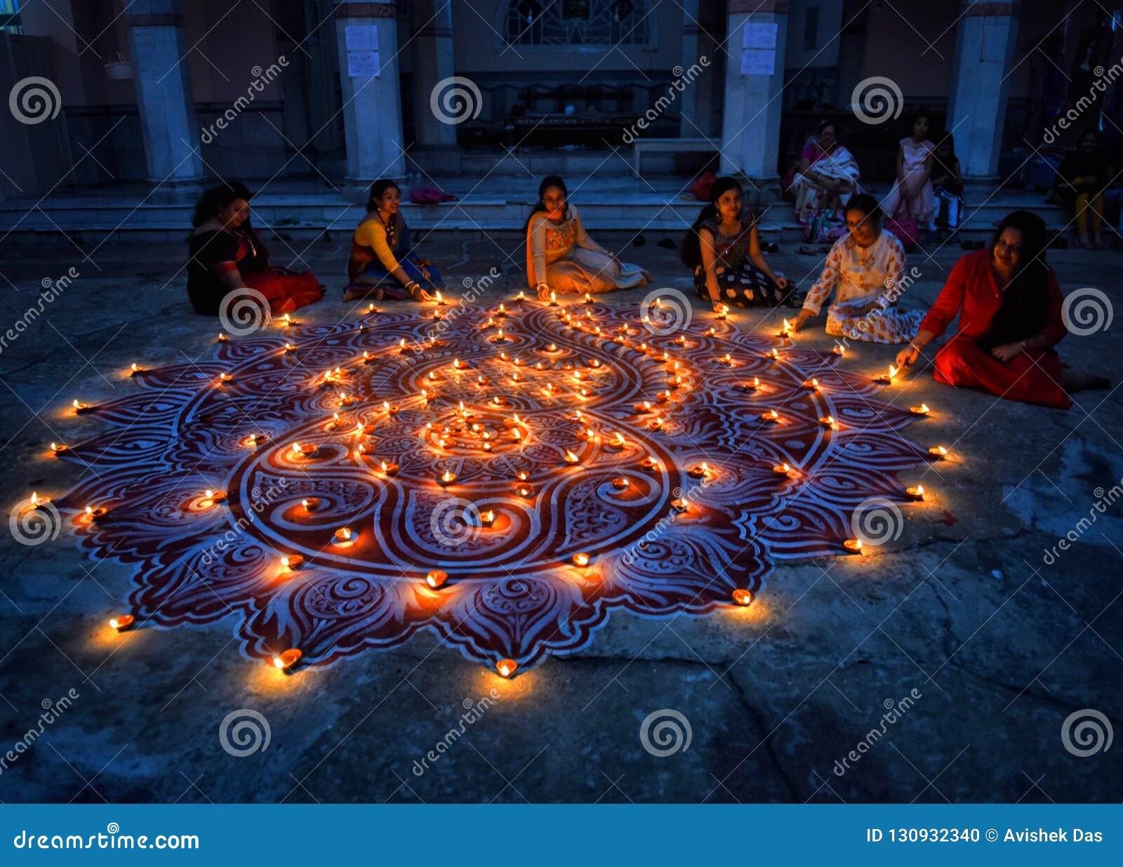 Diwali-Festival bei Indien