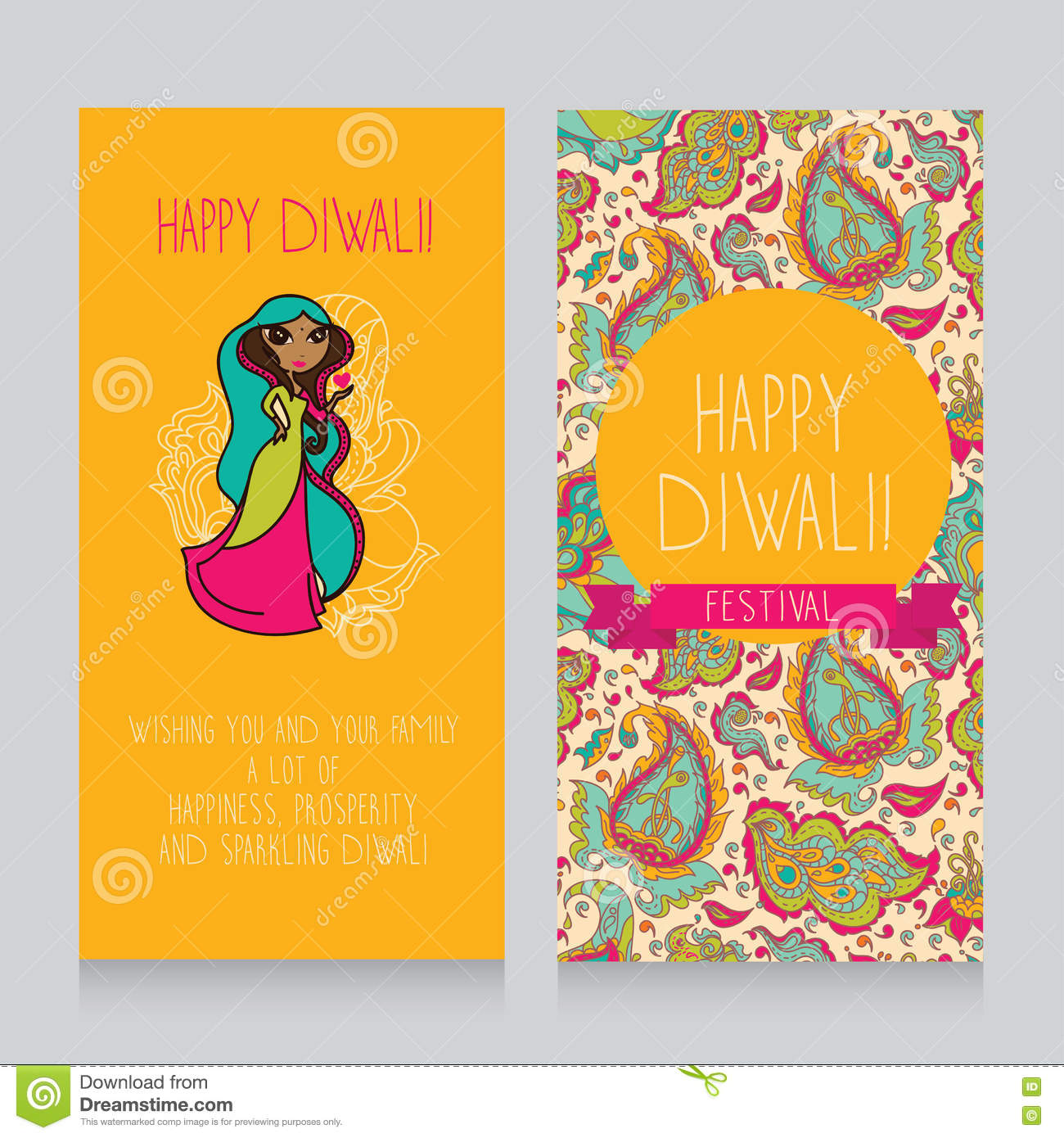 Diwali greeting cards stock vector illustration of diwali 75345577 diwali greeting cards blank doodle royalty free vector download kristyandbryce Image collections