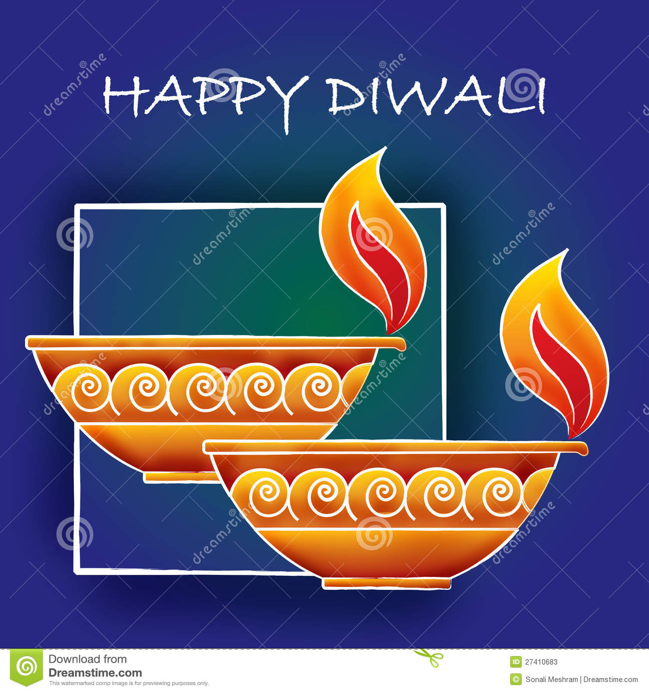 Diwali greetings stock vector illustration of stroked 27410683 diwali greetings m4hsunfo