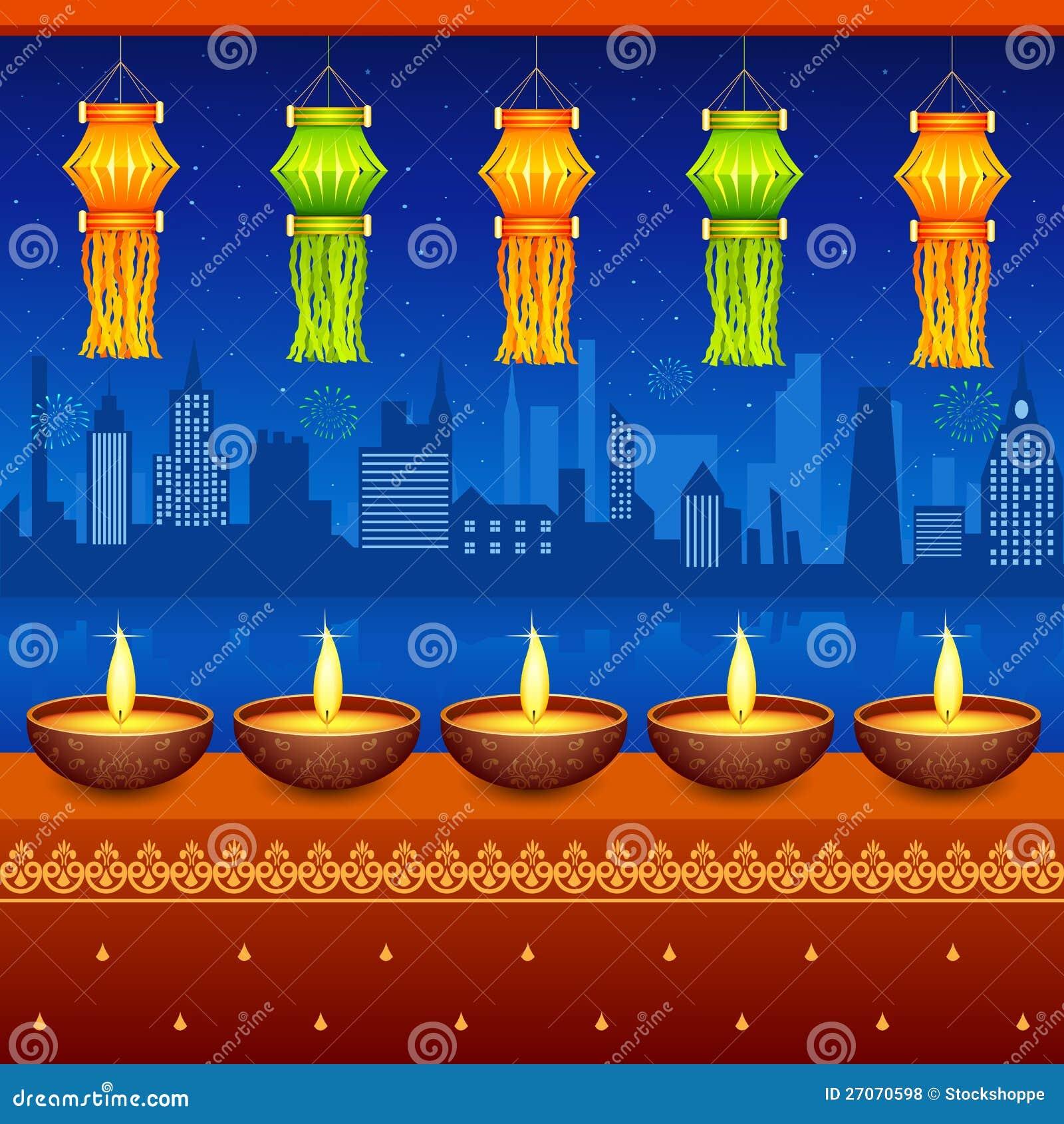 Diwali Hanging Lantern Royalty Free Stock Photos