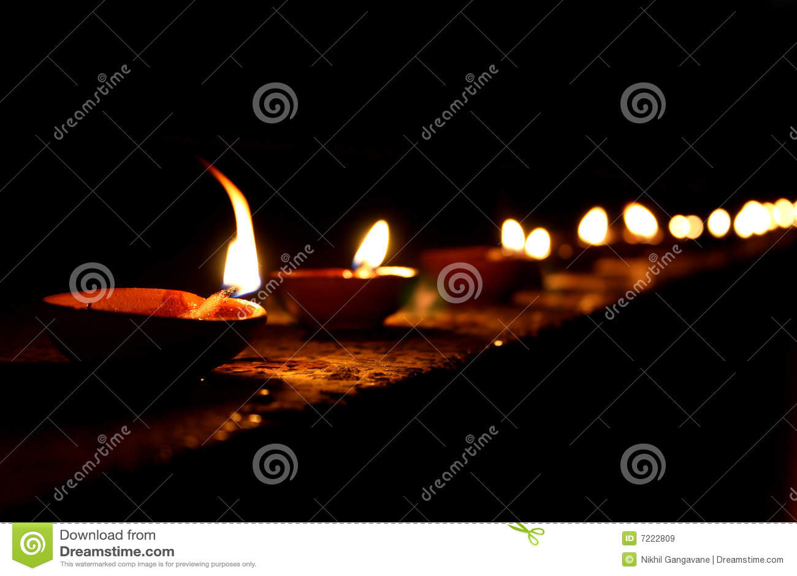 Diwali Lampen