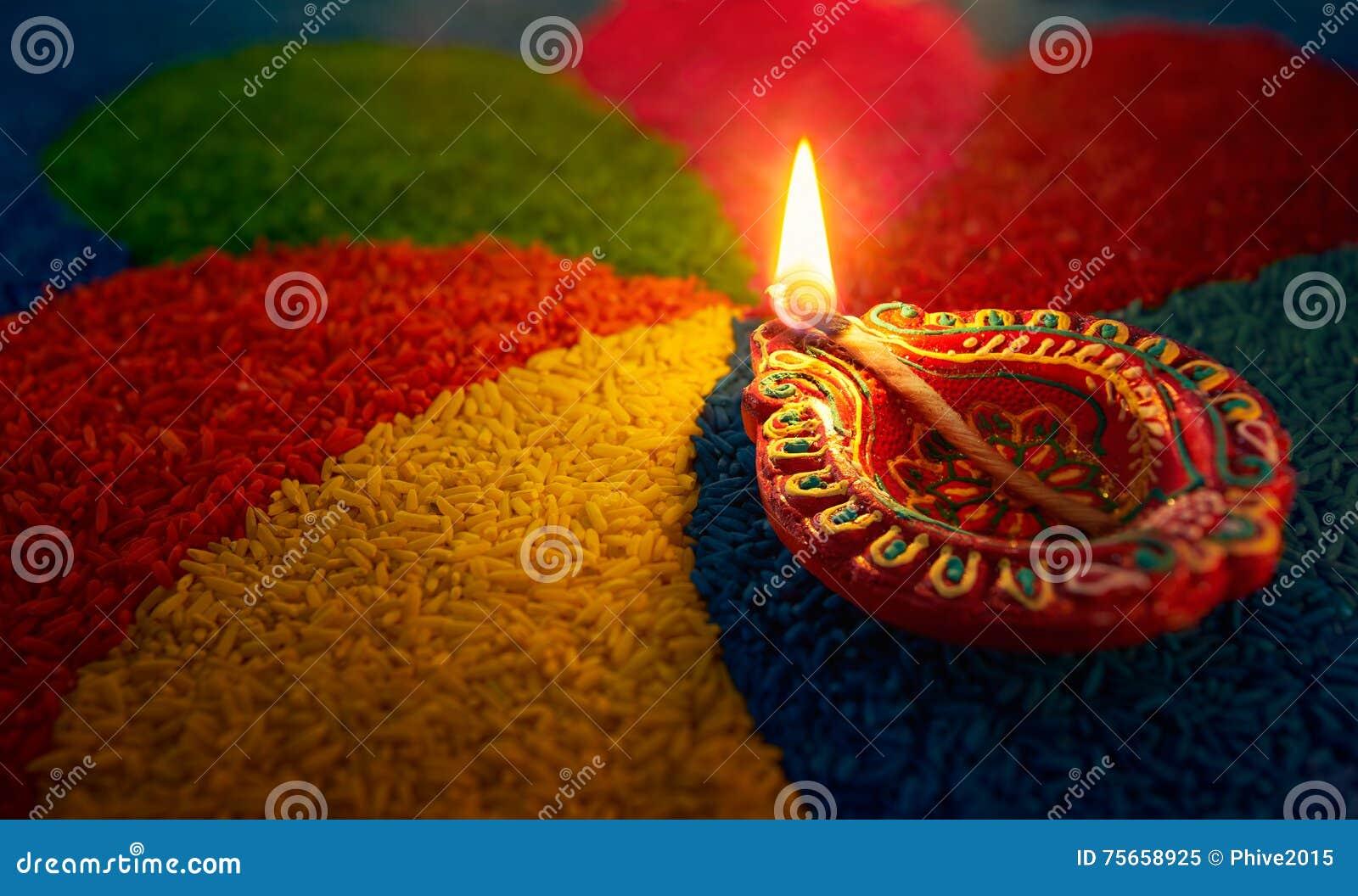 Diwali nafciana lampa
