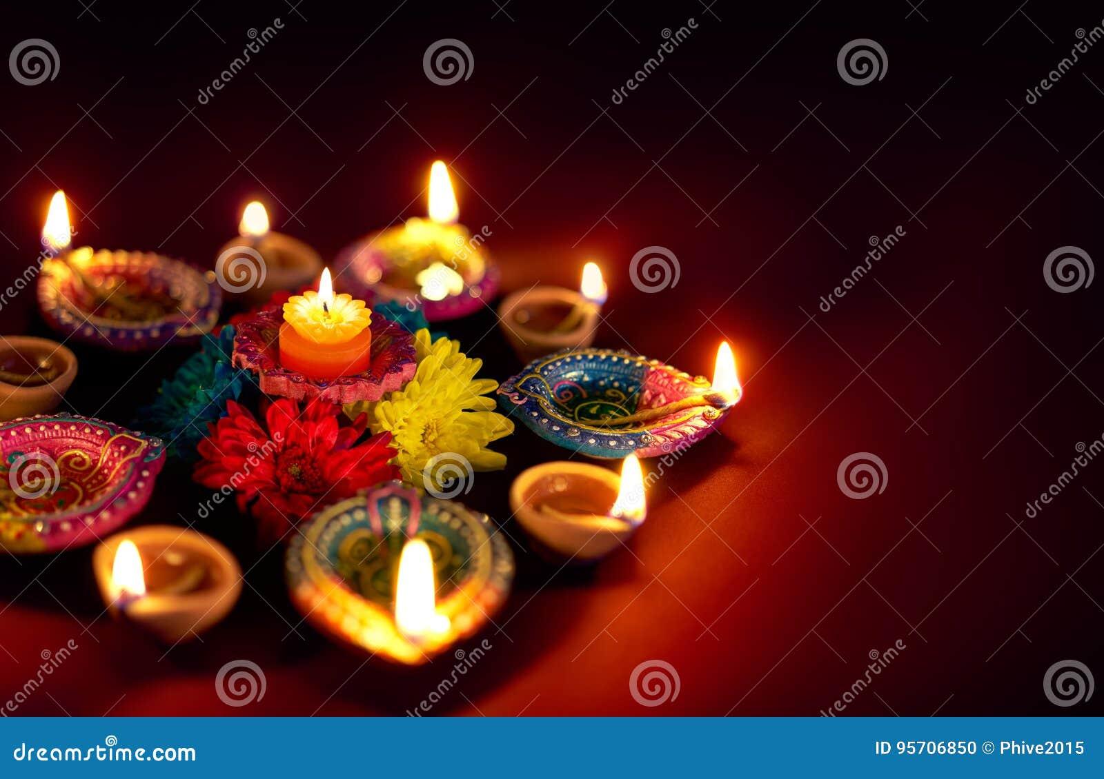Diwali olje- lampa