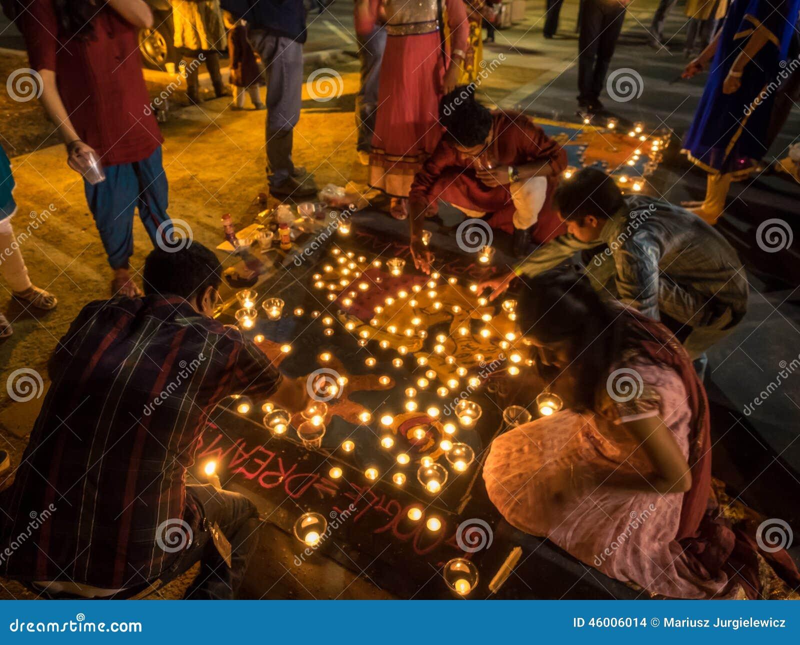 Diwali på Googleplex