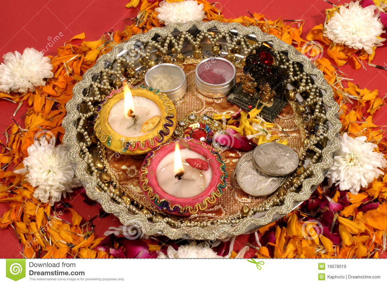 Diwali puja, traditional Indian festival