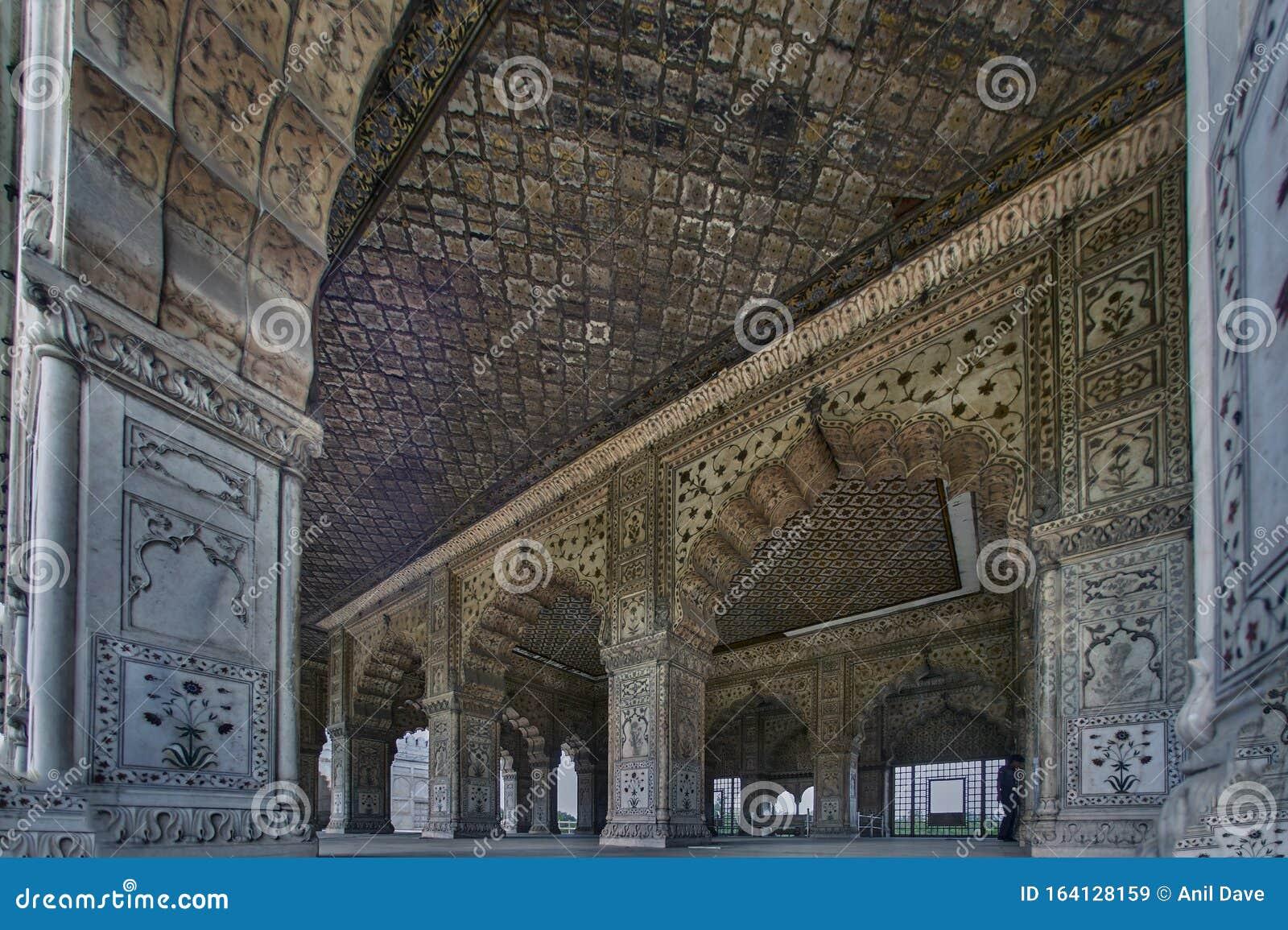 India - Delhi - Red Fort - Diwan-i-Khas - 26 | . . . on