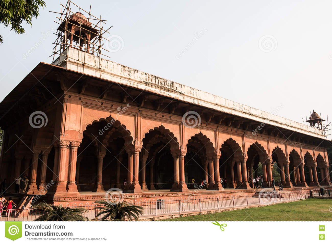 Diwan i aam building in red fort stock photo image 71387424 for Diwan i aam images