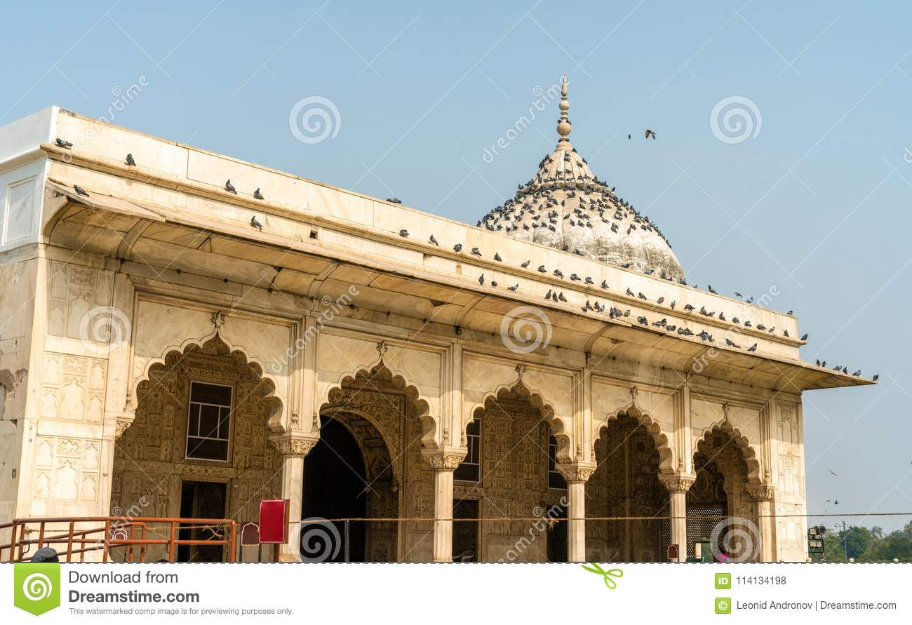 Diwan-E-Khas, Of Hall Of Private Audiences Red Fort