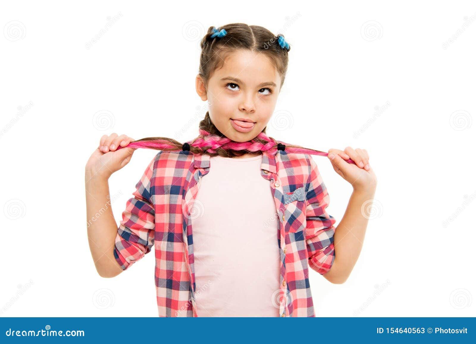 Diy的发型 女孩长的辫子 m 时兴的cutie 女性发型 可爱的儿童好的发型