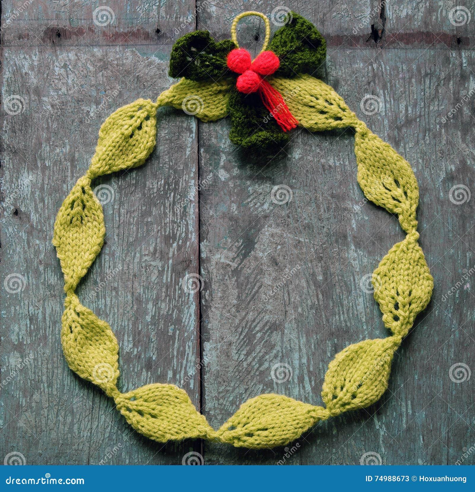 Diy Christmas Wreath Xmas Holiday Stock Image Image Of Leaf
