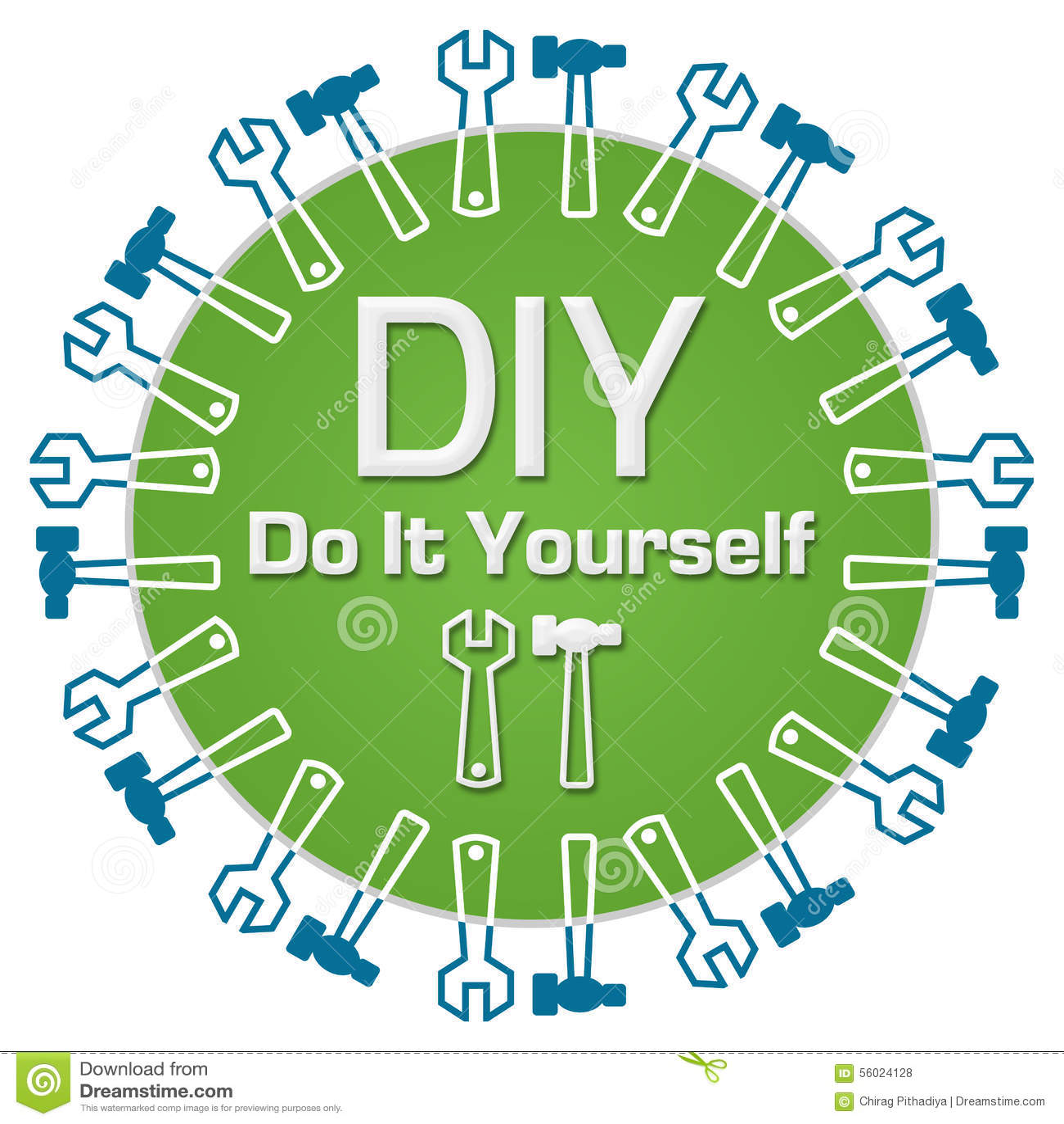 Diy do it yourself circular stock illustration illustration of download comp solutioingenieria Gallery