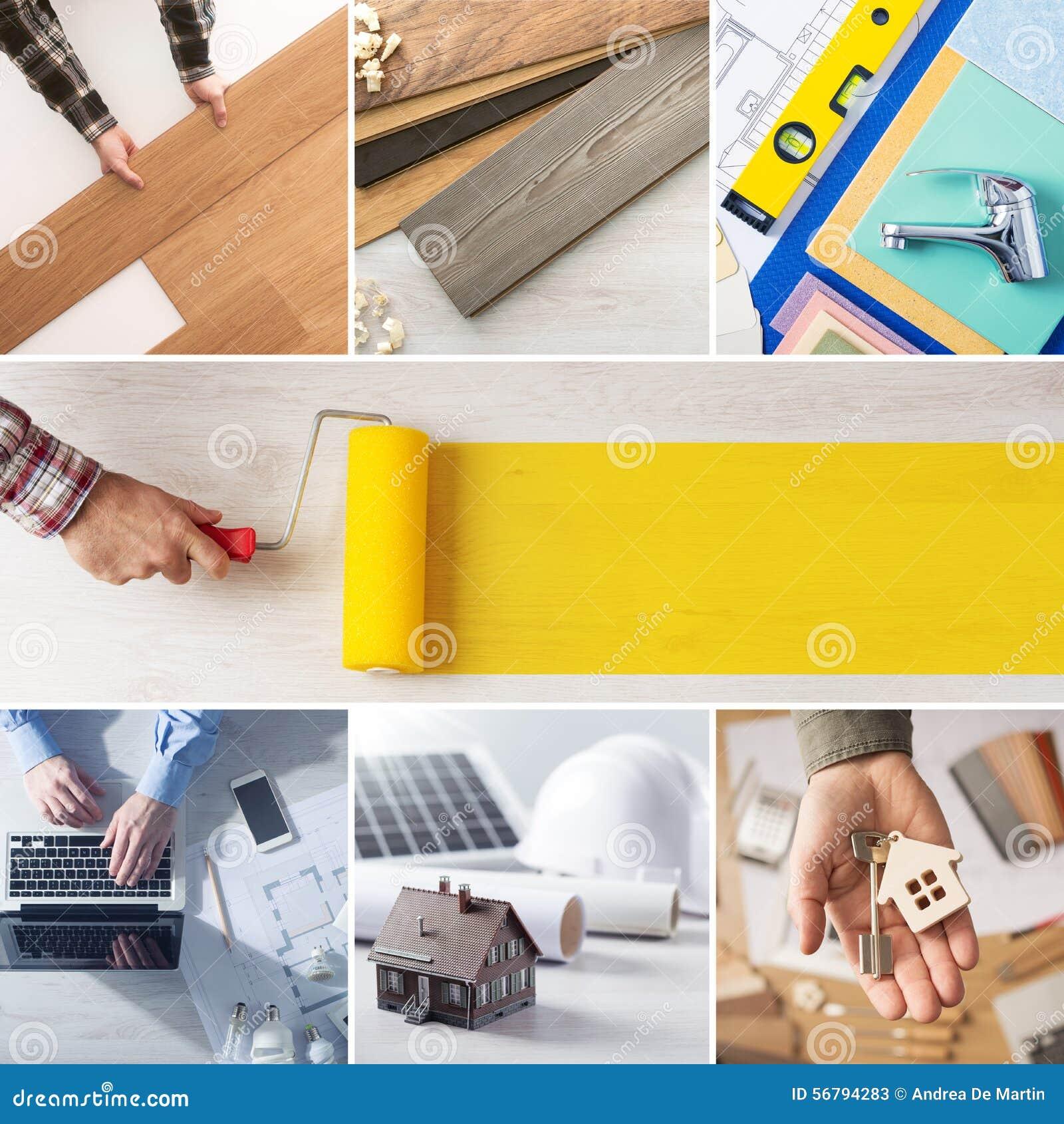 DIY e punti domestici di rinnovamento