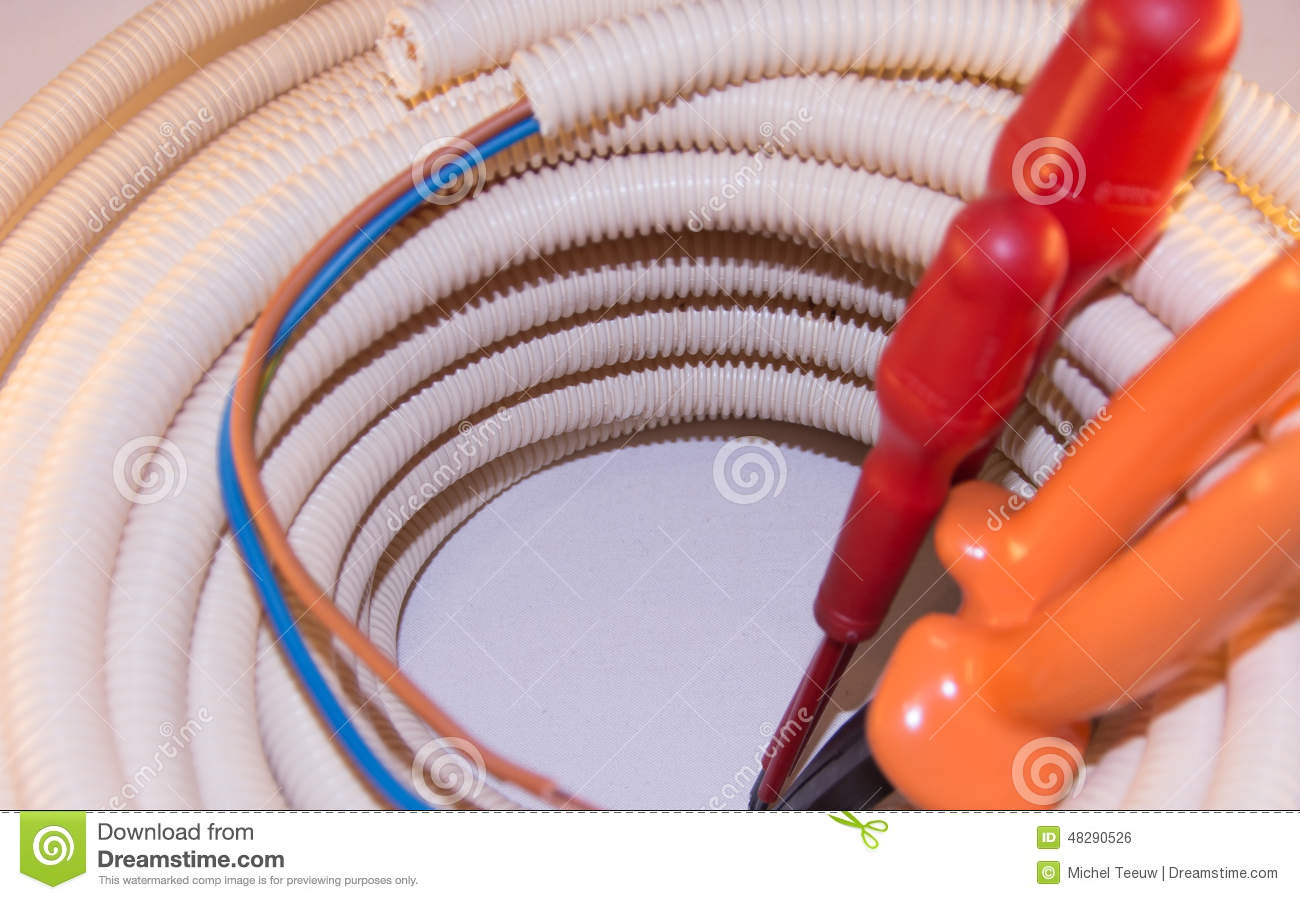 Astounding Diy Electrical Installation Stock Photo Image Of Line Equipment Wiring 101 Akebretraxxcnl