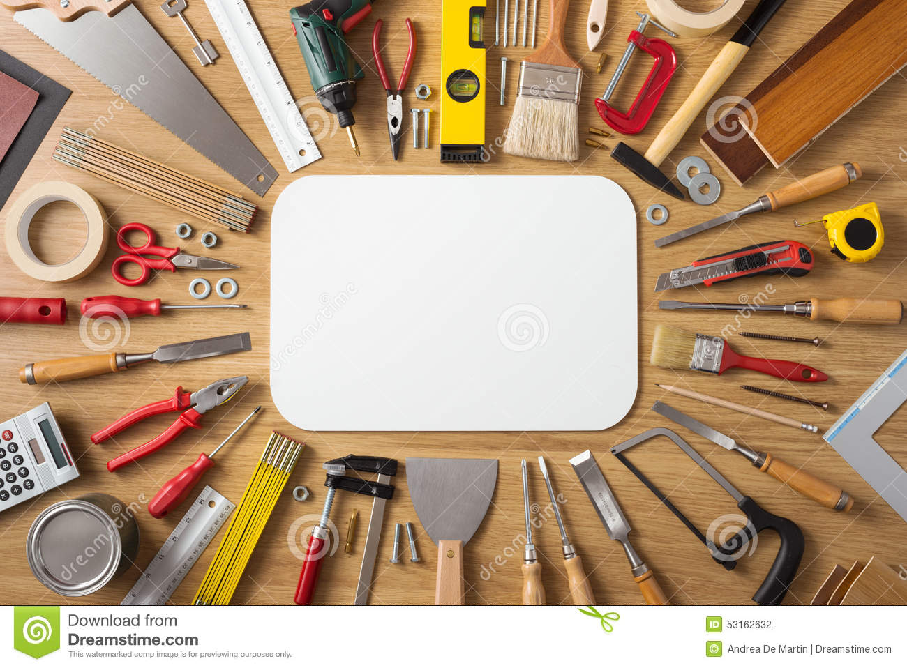 DIY And Home Improvement Banner Stock Photo - Image: 53162632