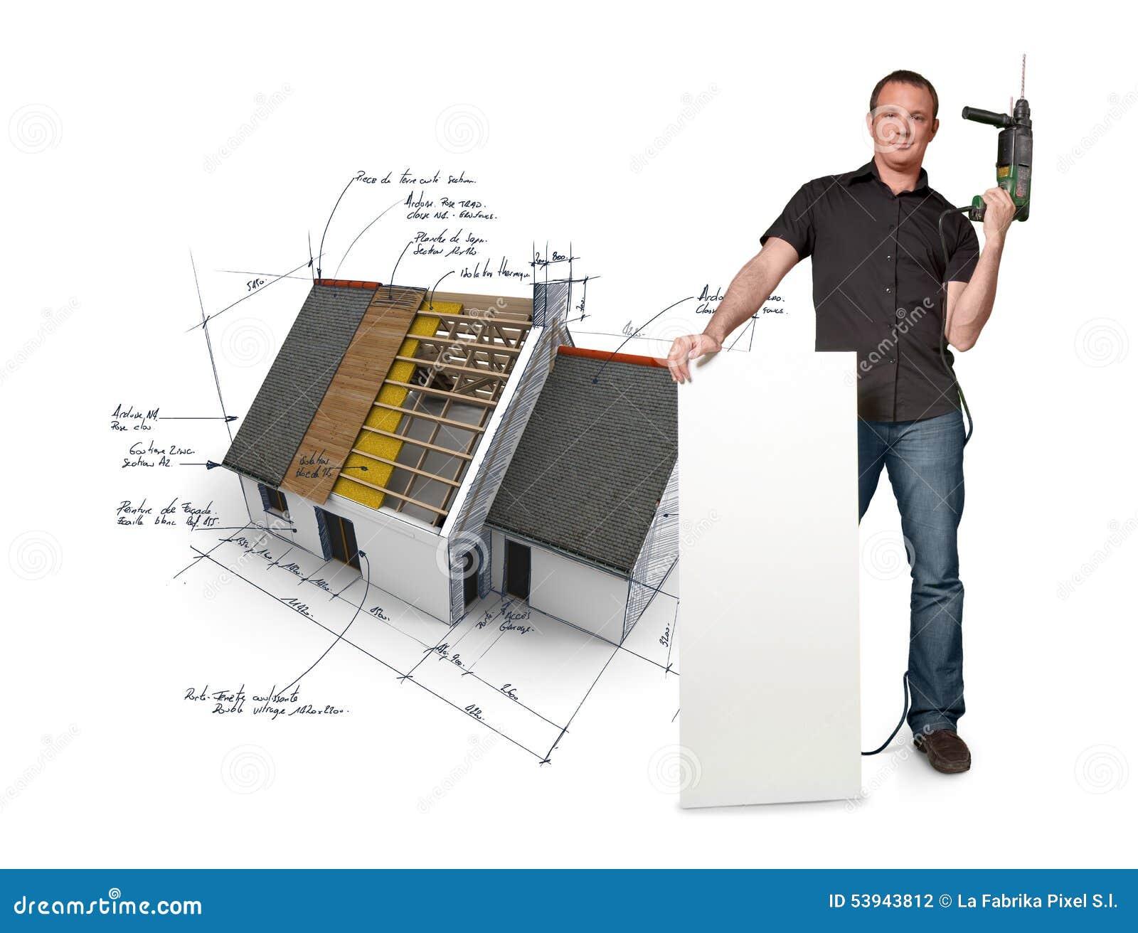 Diy Home Improvement Stock Illustration Image 53943812