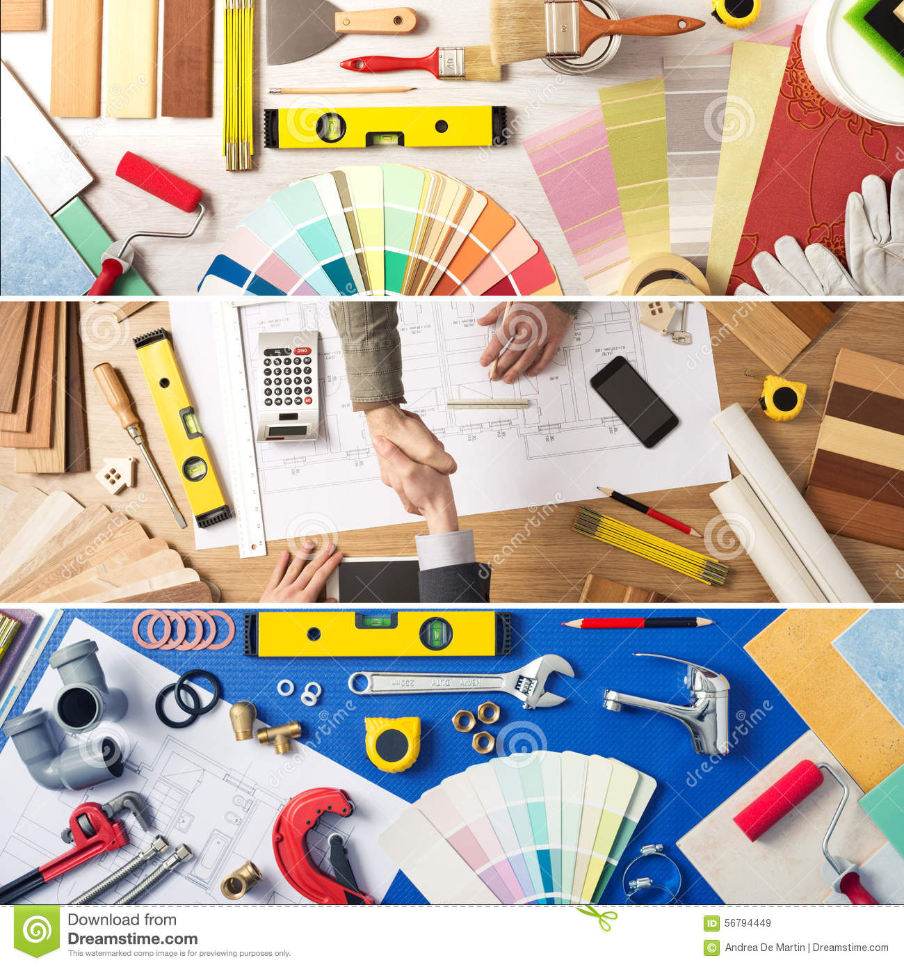 DIY And Home Improvement Stock Photo - Image: 56794449