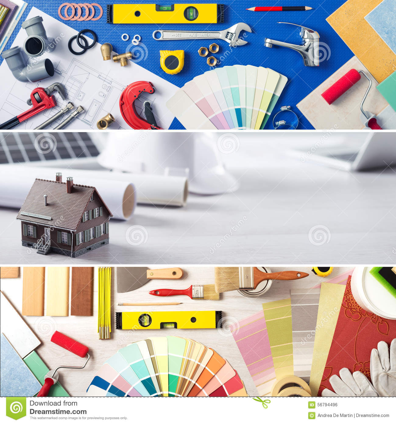 DIY and home improvement stock photo. Image of architect ...