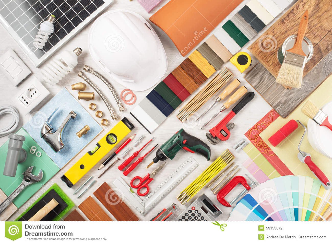 Diy and home renovation stock photo image 53153672 for Home renovation builders