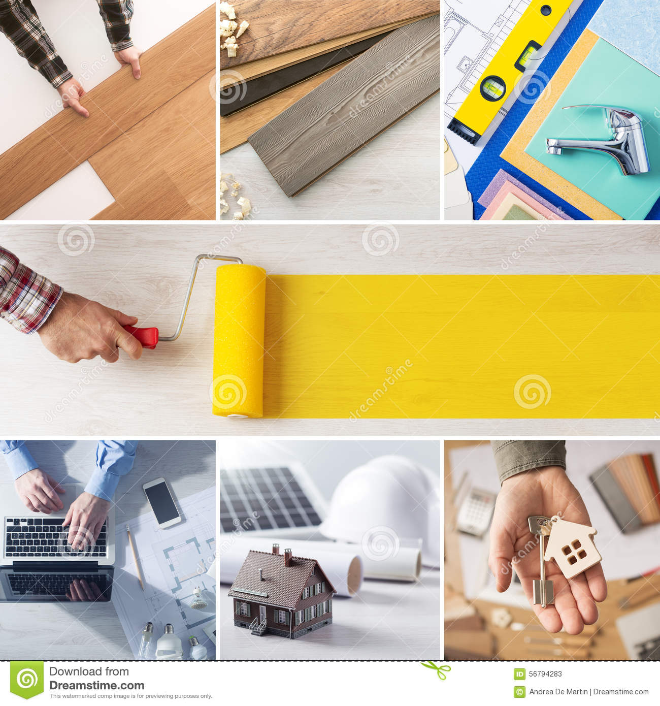 Diy and home renovation steps stock photo image 56794283 for A to z home improvements