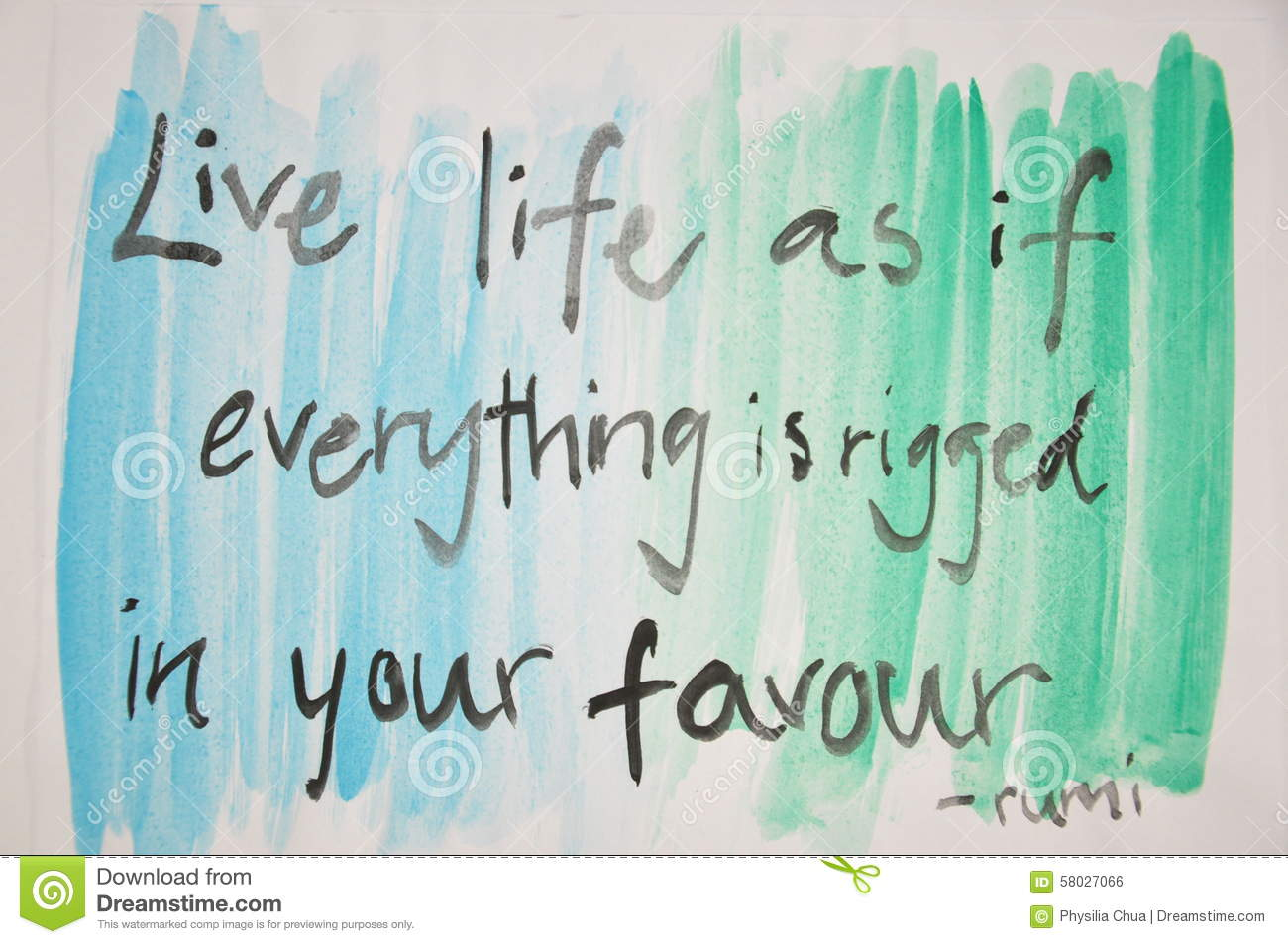 Diy quote painting stock photo image