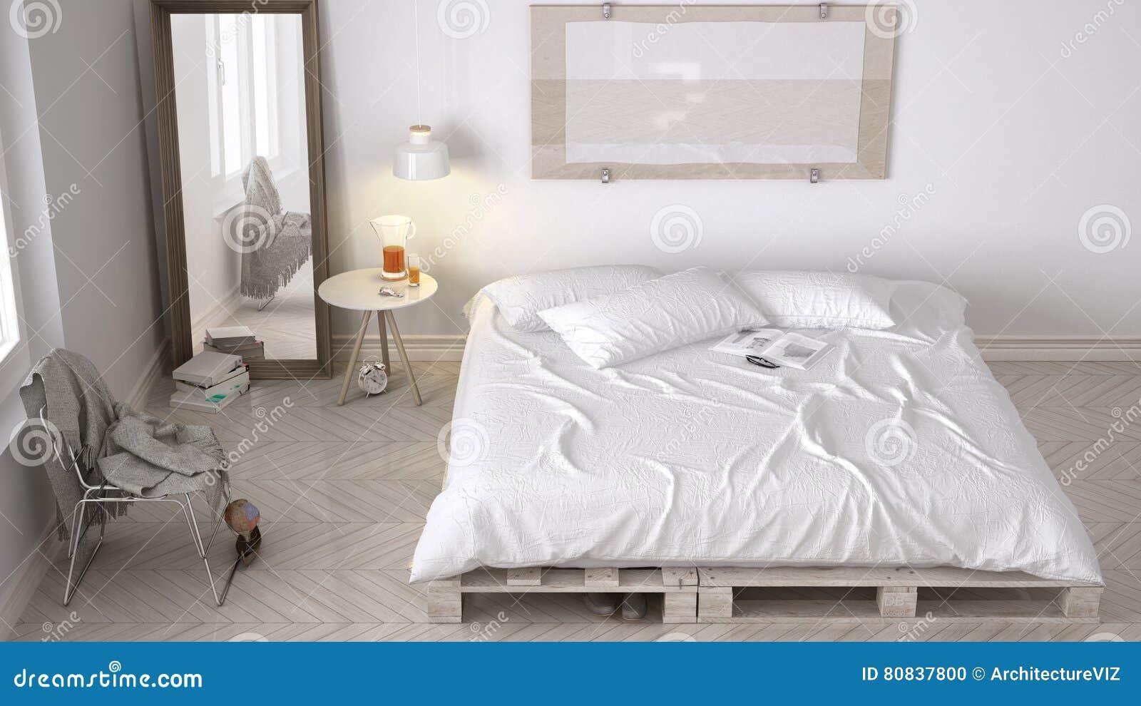 Diy Schlafzimmer Skandinavisches Weisses Eco Schickes Design
