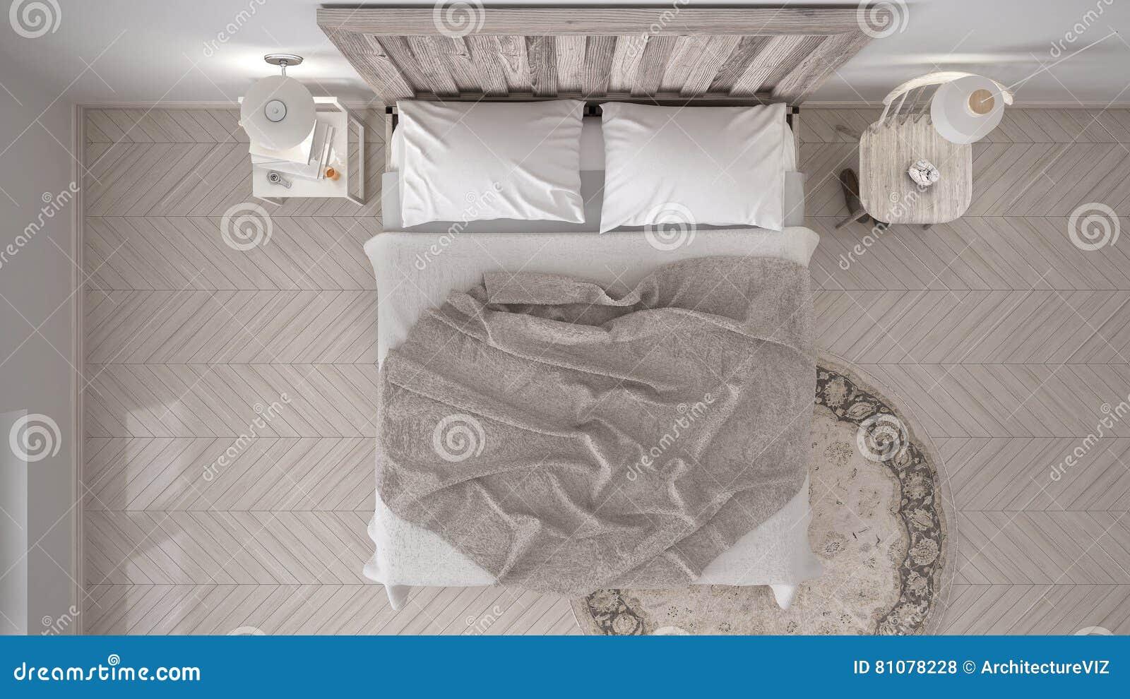 Diy Voor Slaapkamer : Diy slaapkamer bed met houten hoofdeinde skandinavische witte