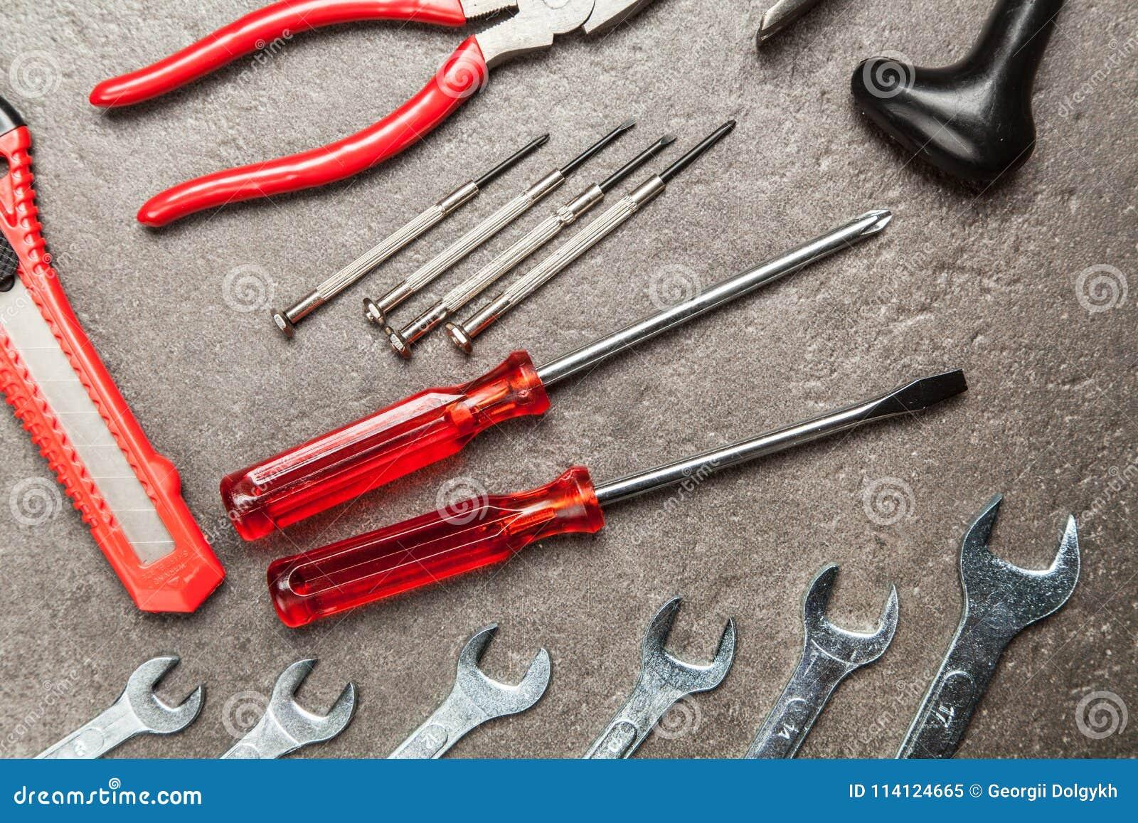 DIY Tools set stock image  Image of black, socket, concept