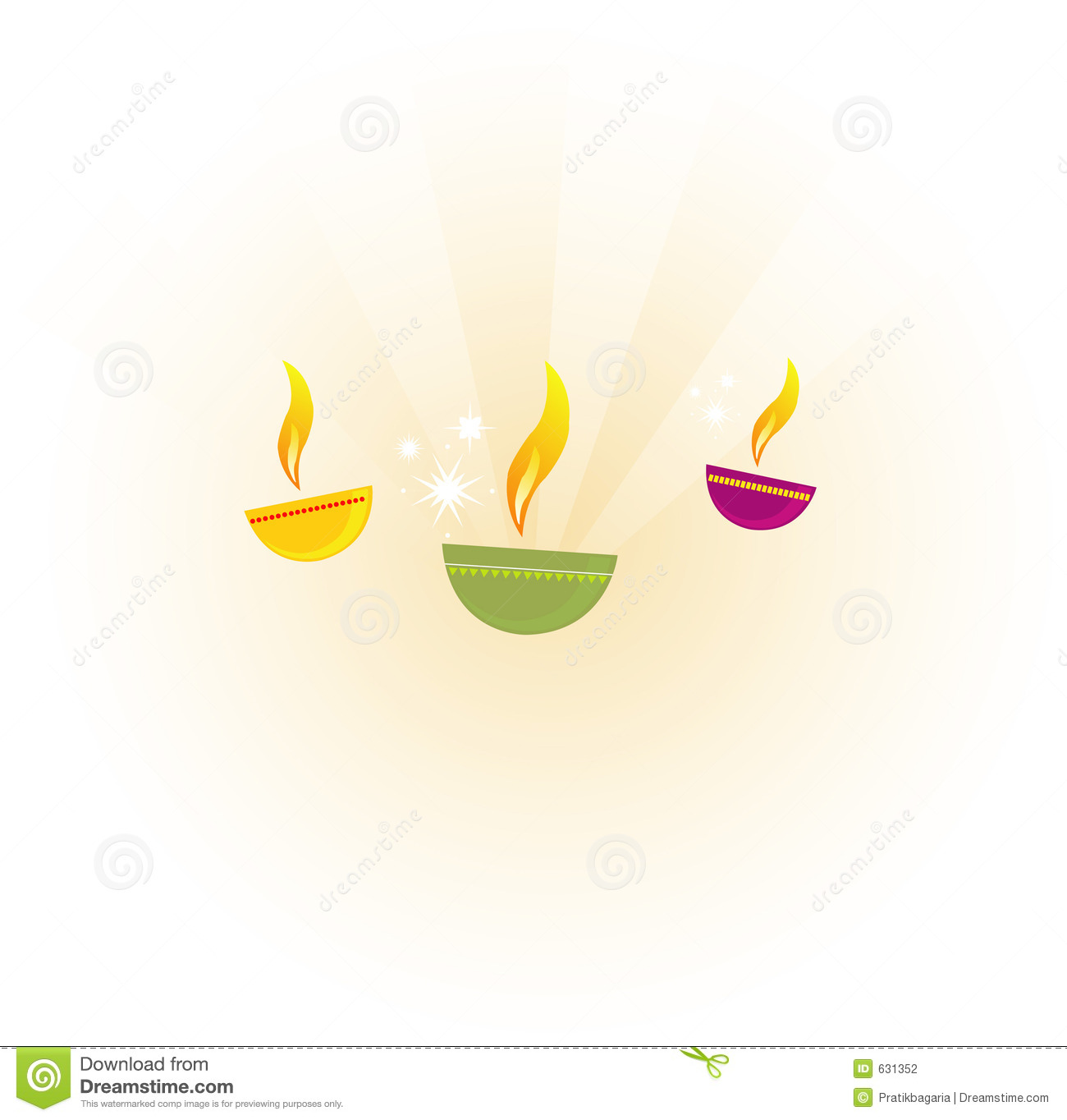 Diya stock vector illustration of happiness symbolism 631352 diya biocorpaavc Image collections