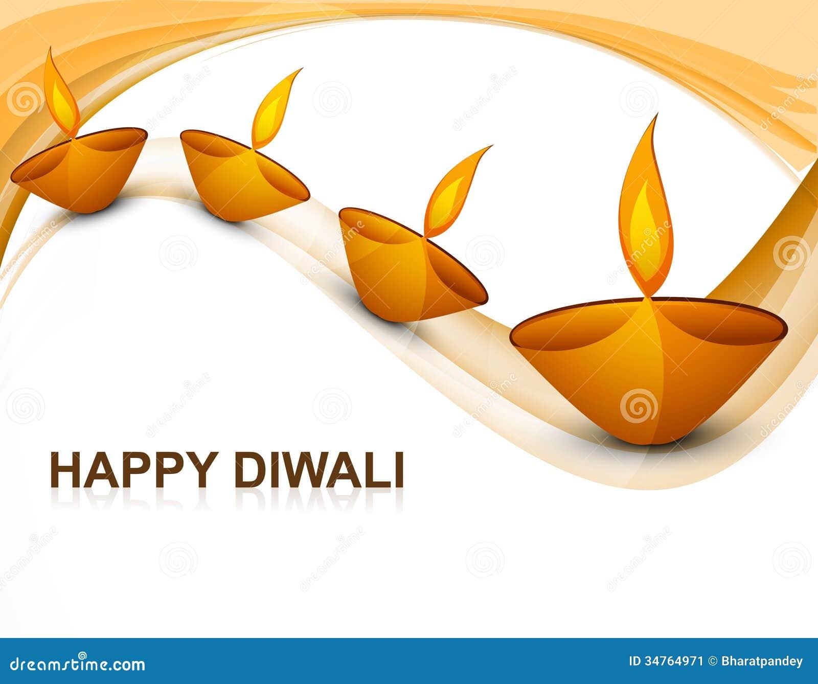 Diya religioso colorido bonito de Diwali da decoração
