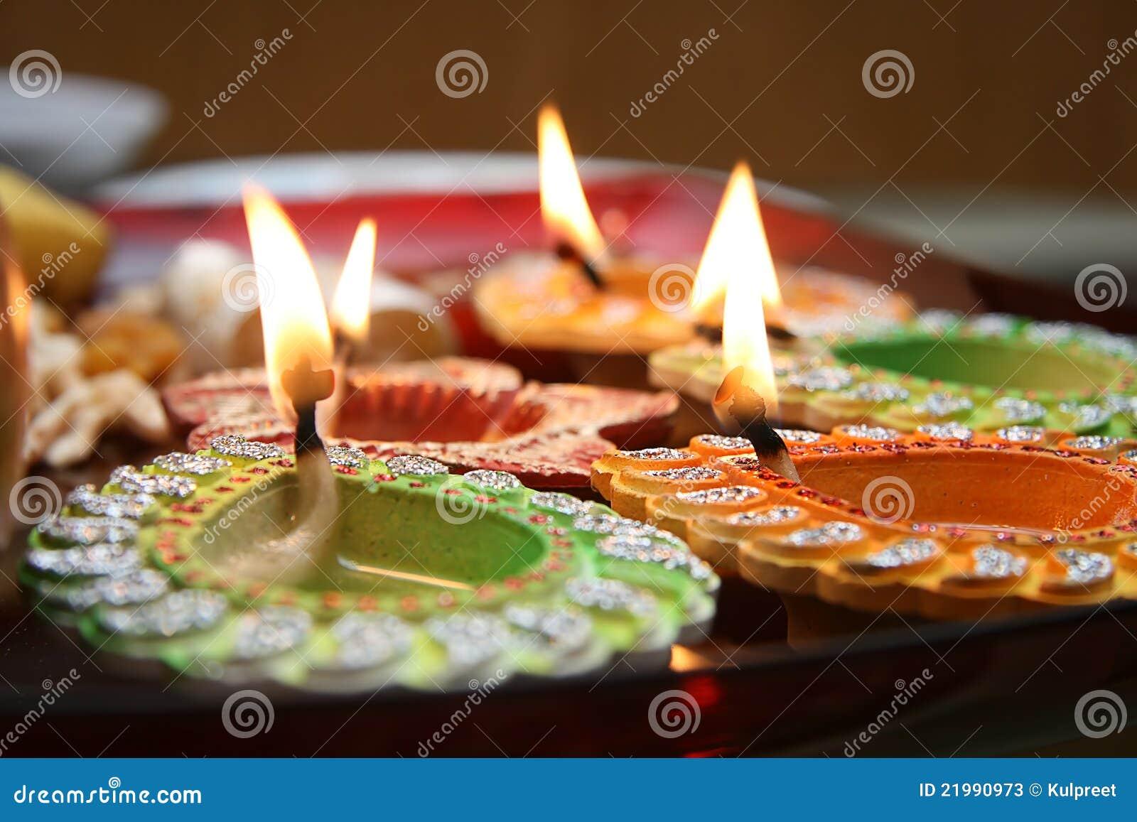 Diyas de Diwali
