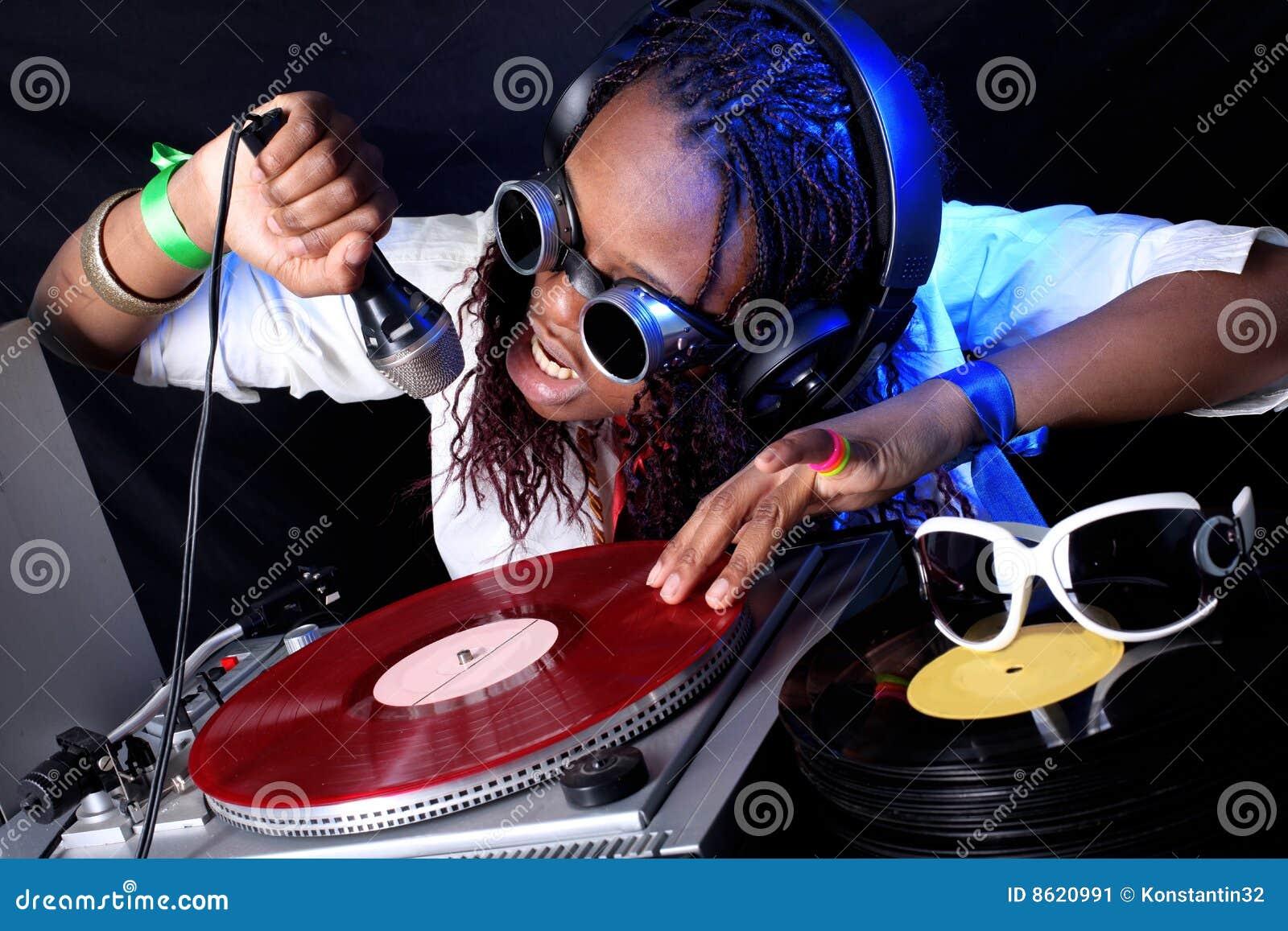 DJ in actie