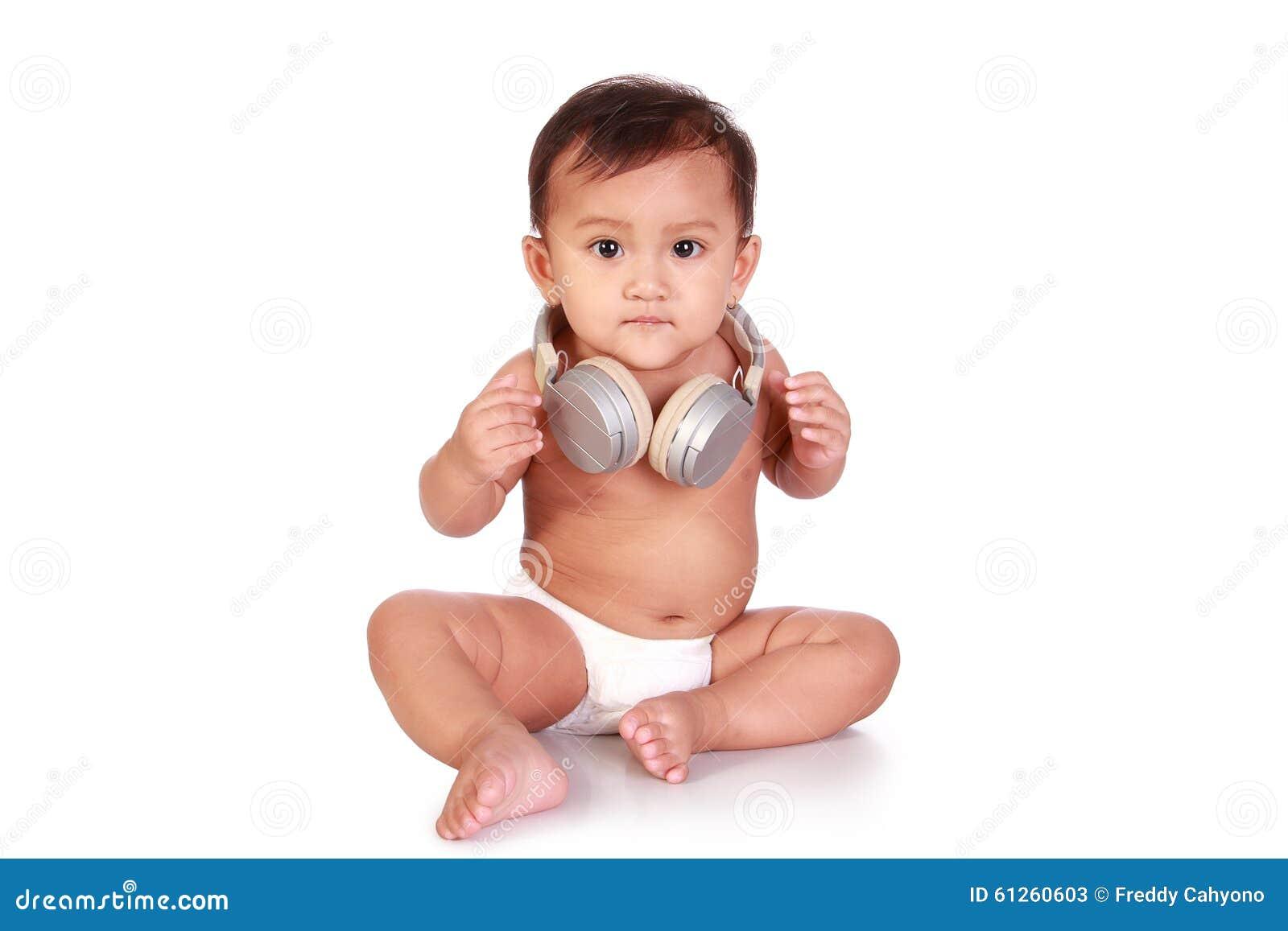 dj baby stock photo - image: 61260603