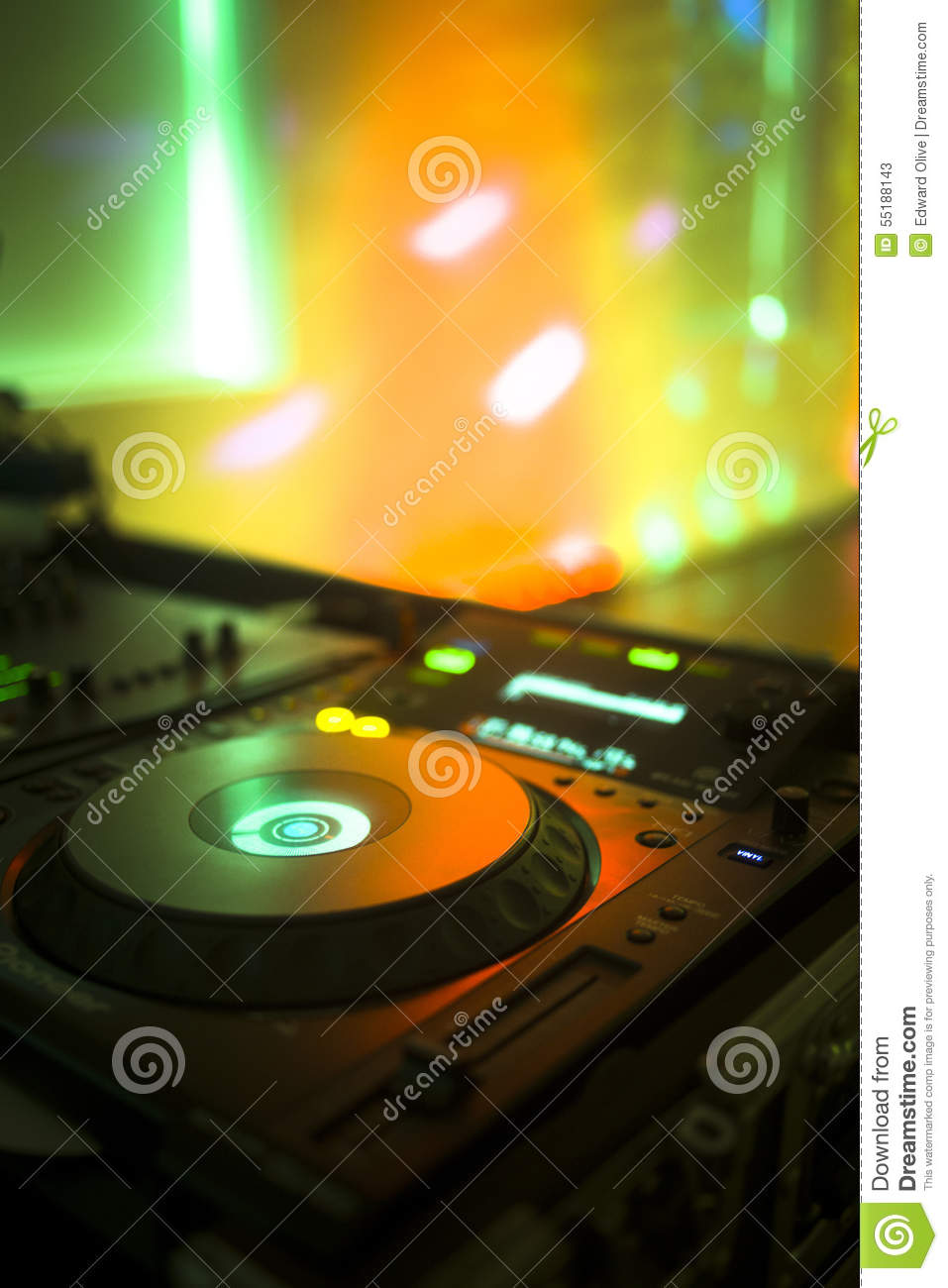 Dj console mixing desk ibiza house music party nightclub for House music party