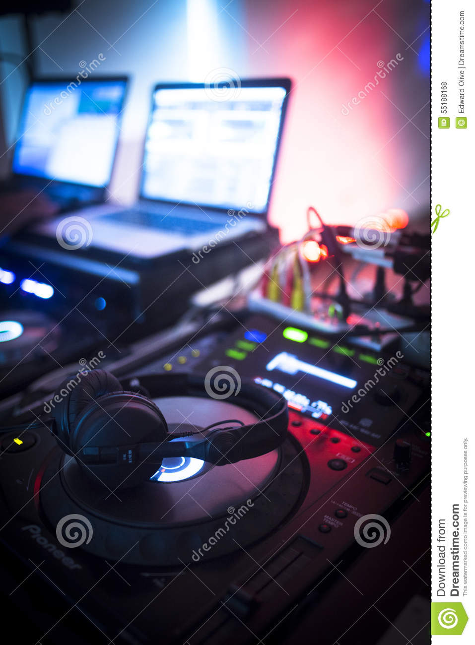 Dj console mixing desk ibiza house music party nightclub for House music images