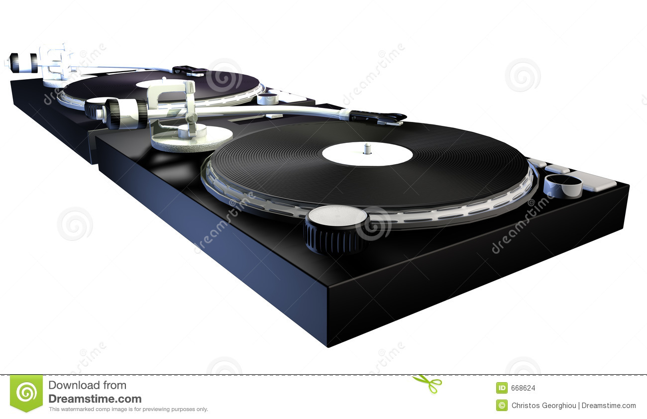 Dj Decks Stock Illustration Image Of Decks Wheel Player