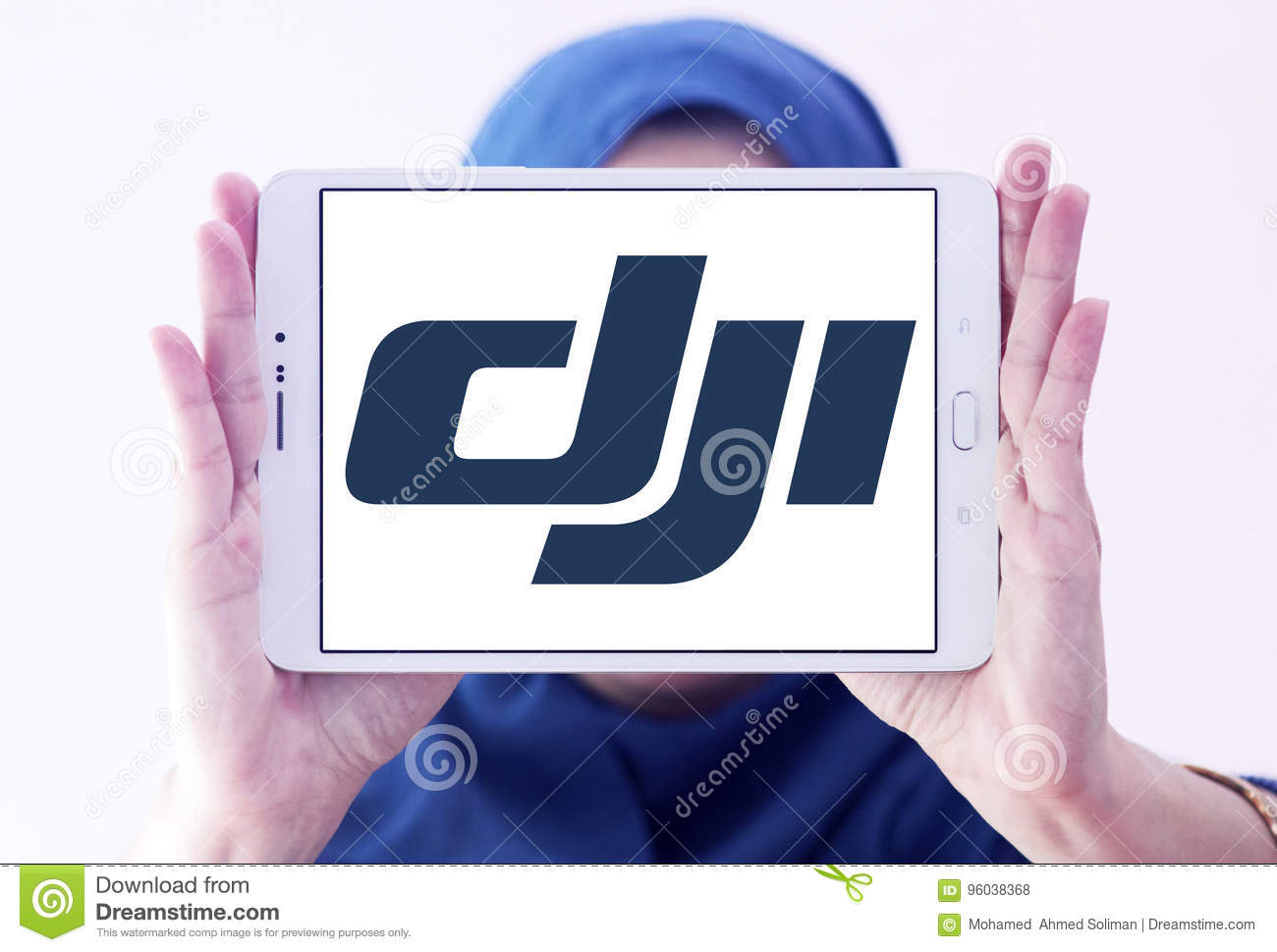 Dji Logo Editorial Stock Photo Image Of Tablet Brands 96038368