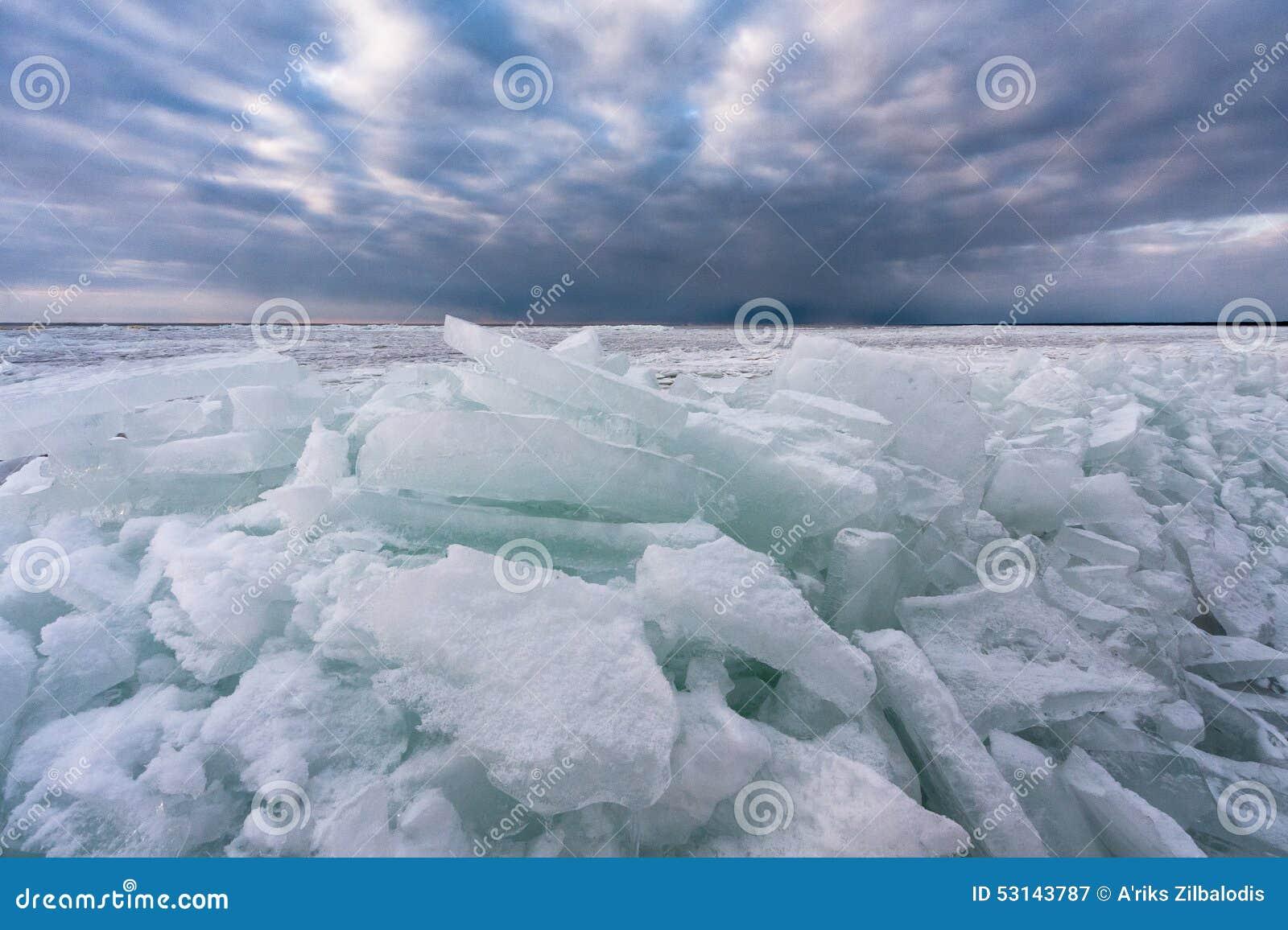 Djupfryst hav