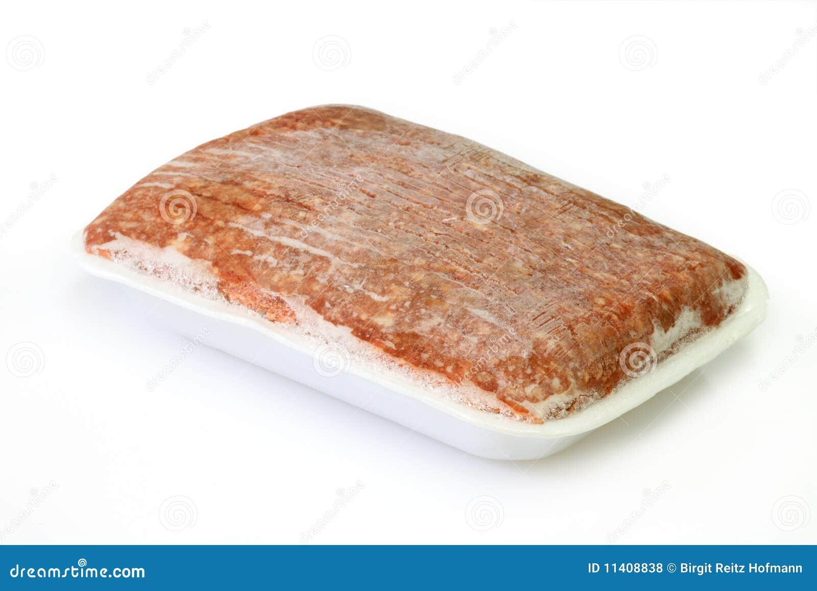 Djupfryst köttfärslimpa