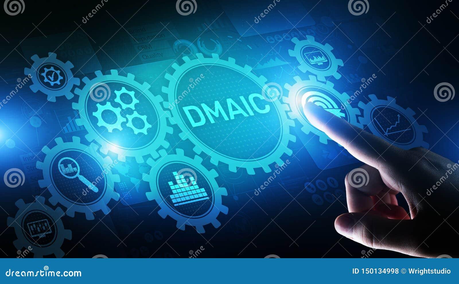 DMAIC definen medida para analizar para mejorar la optimizaci?n de proceso de negocio industrial del control seis fabricaciones m