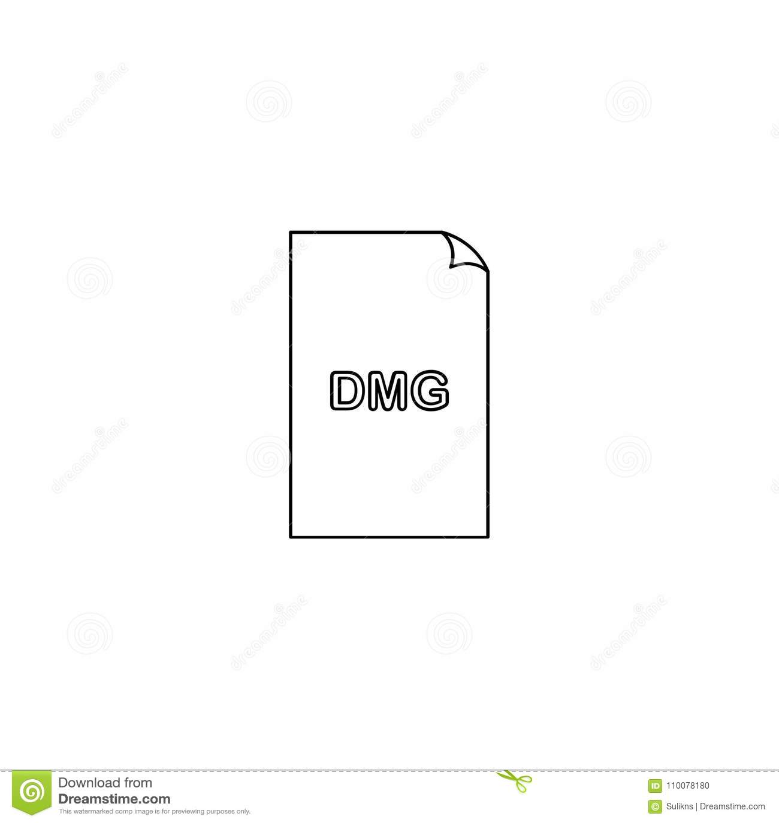 dmg video file extension
