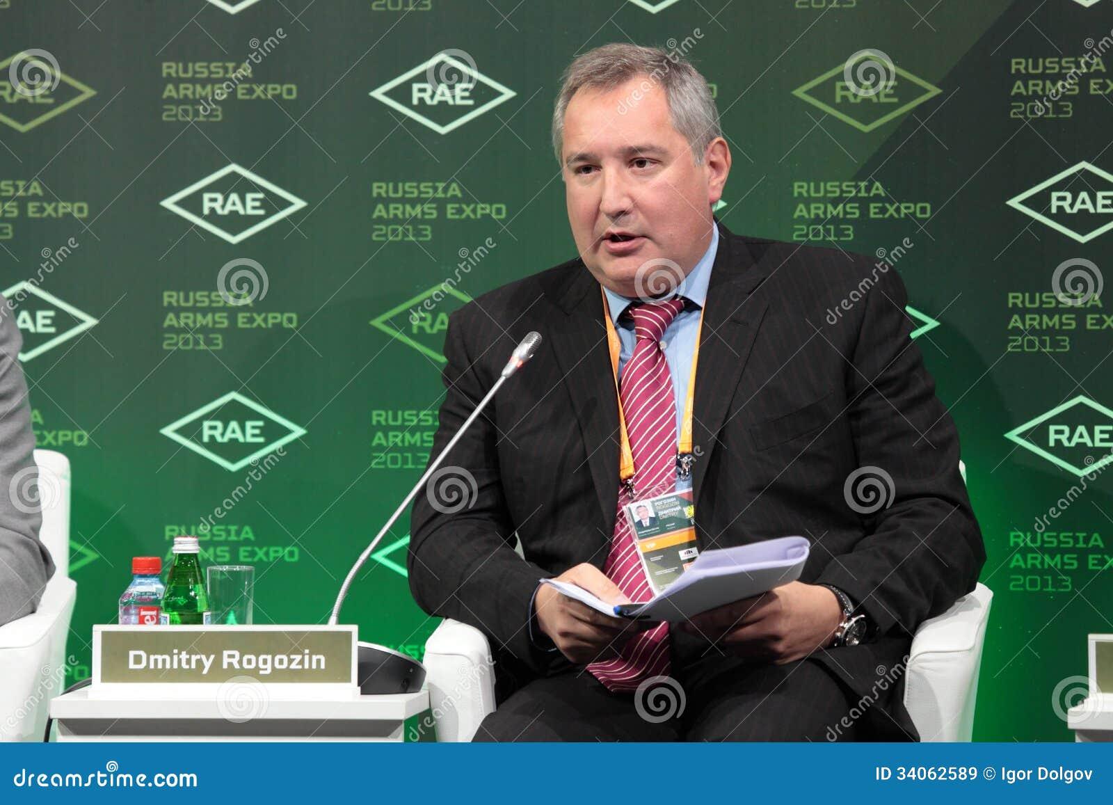 Dmitry Rogozin Editorial Stock Image - Image: 34062589